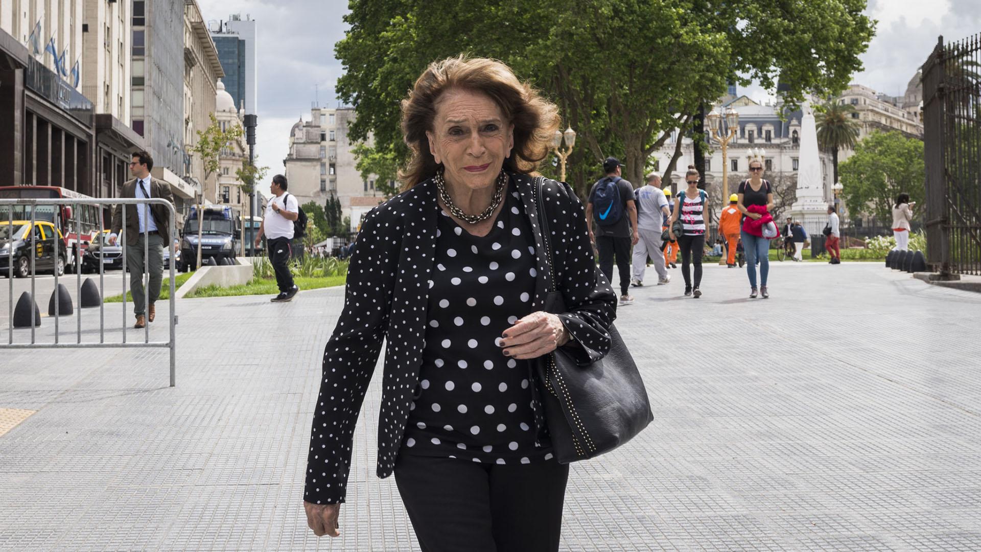 La periodista Magdalena Ruiz Guiñazú