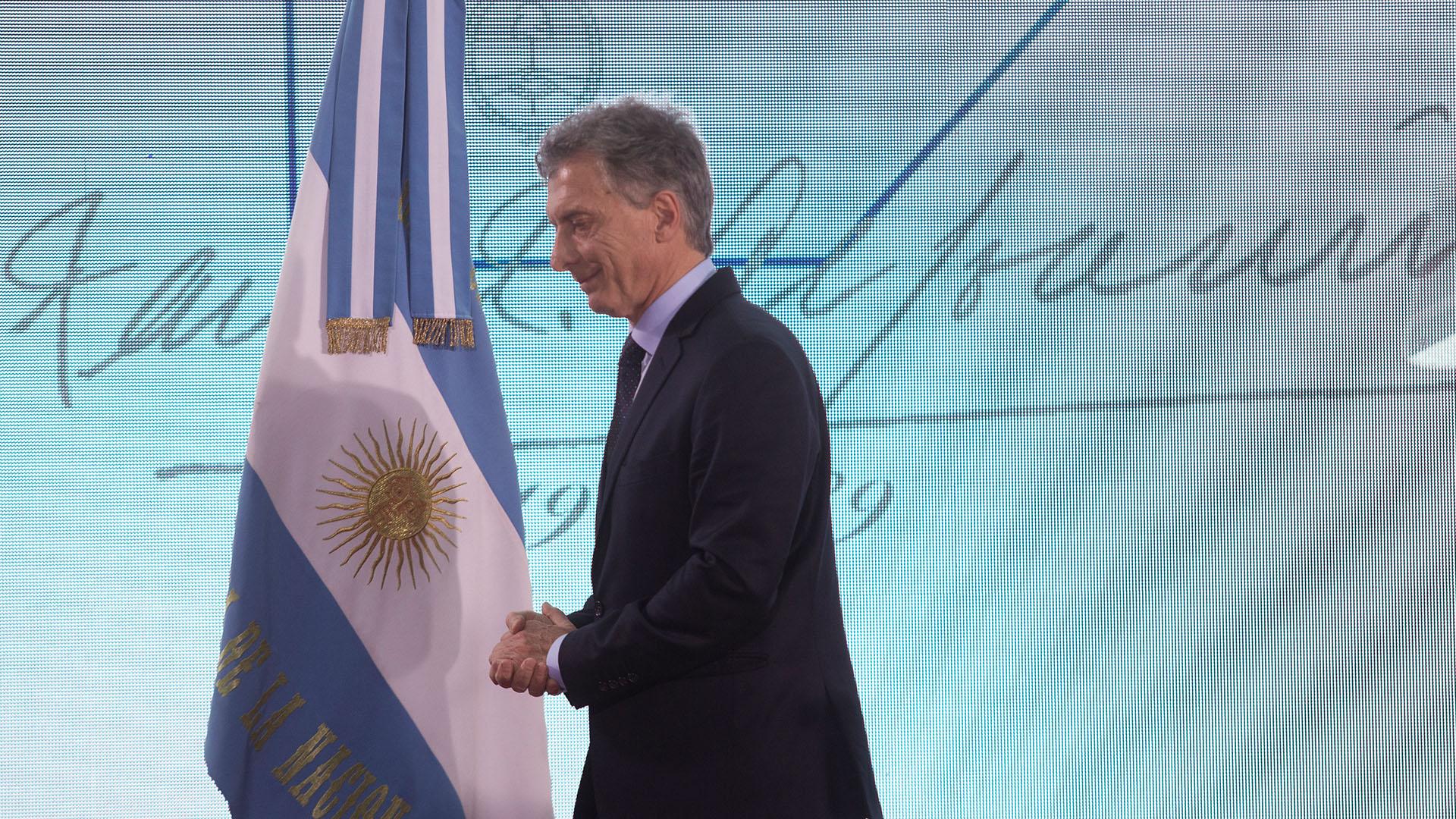 """El Presidente Macri pidió construir """"una Argentina unida"""""""
