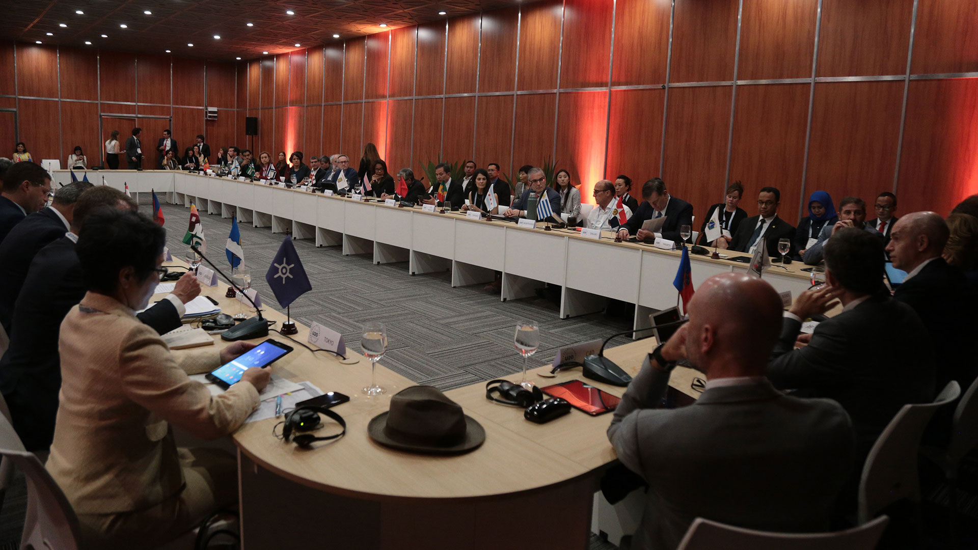 35 alcaldes del mundo participaron del Urban 20