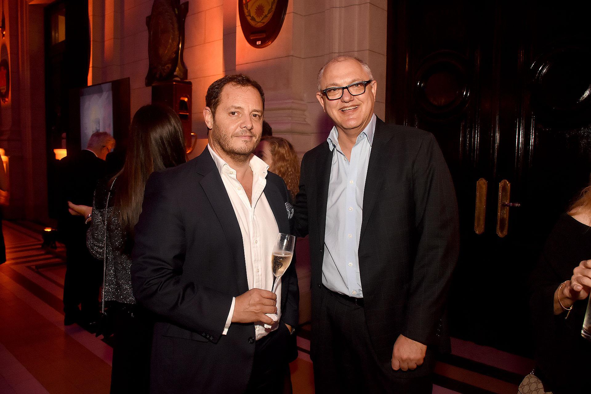 Demian Reidel y Javier Timerman