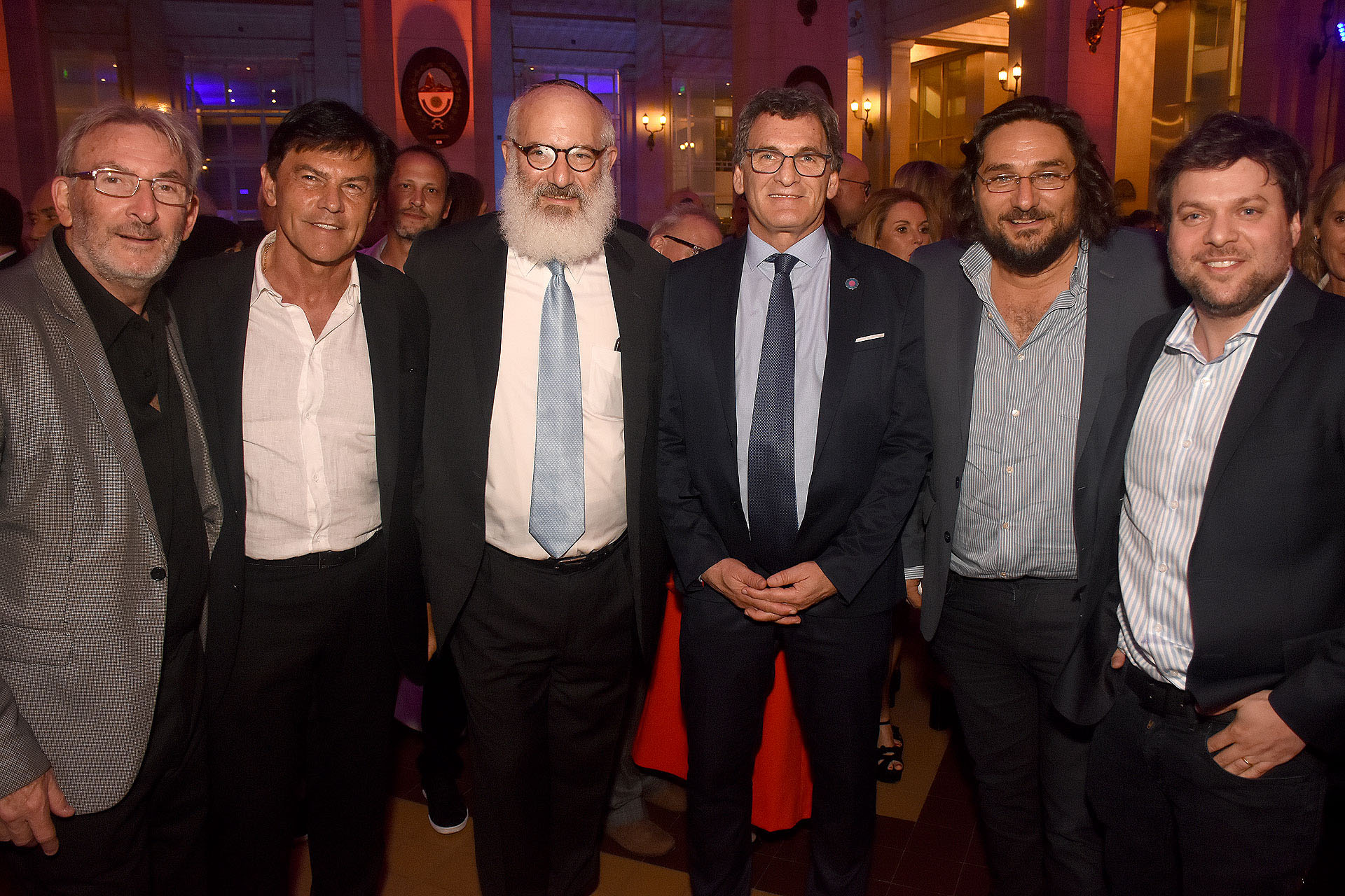 Guillermo Yanco, Ricardo Klahr, Eduardo Elsztain, Claudio Avruj, Martín Kweller y Guido Kaczka