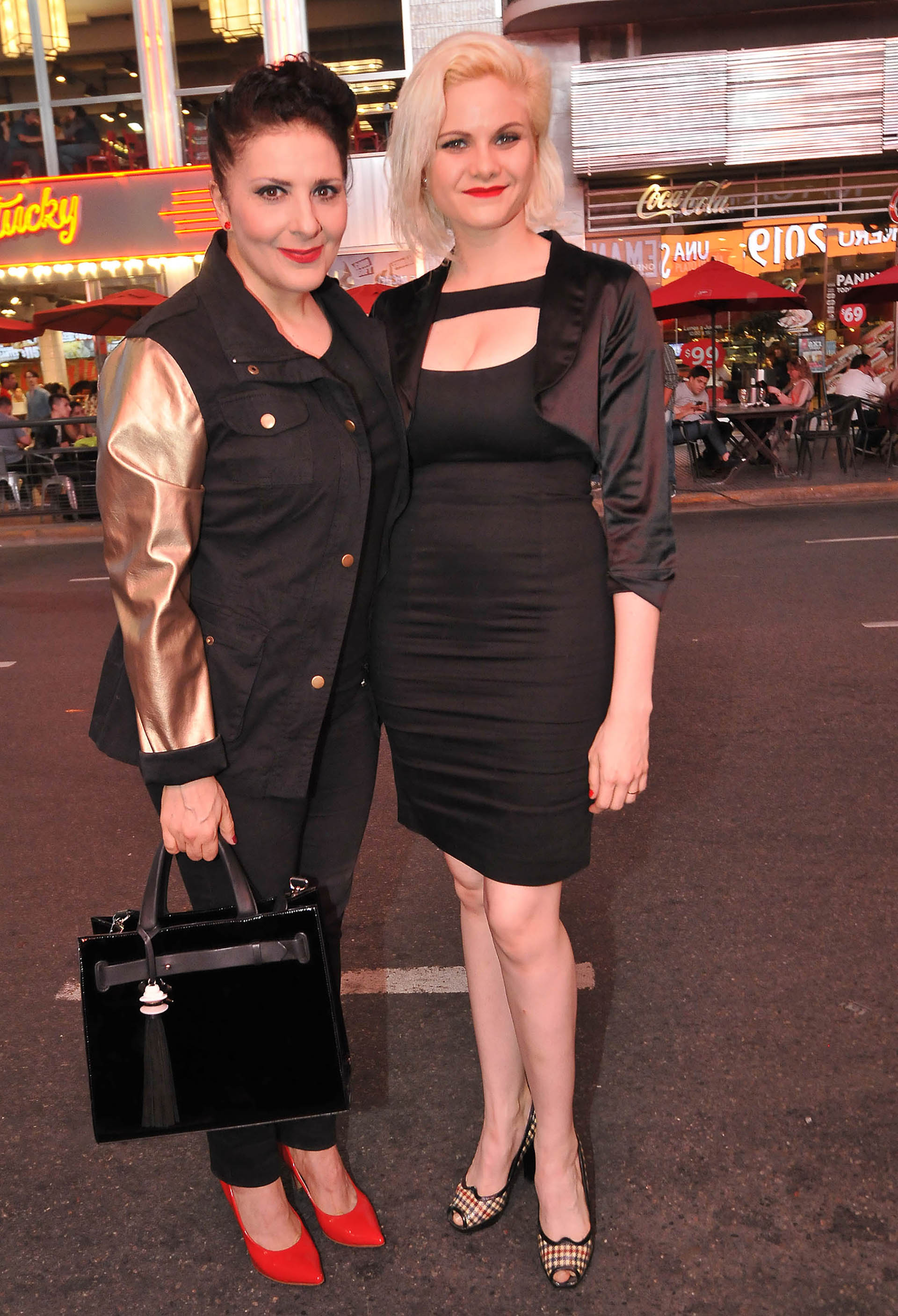 Karina K y Cynthia Manzi