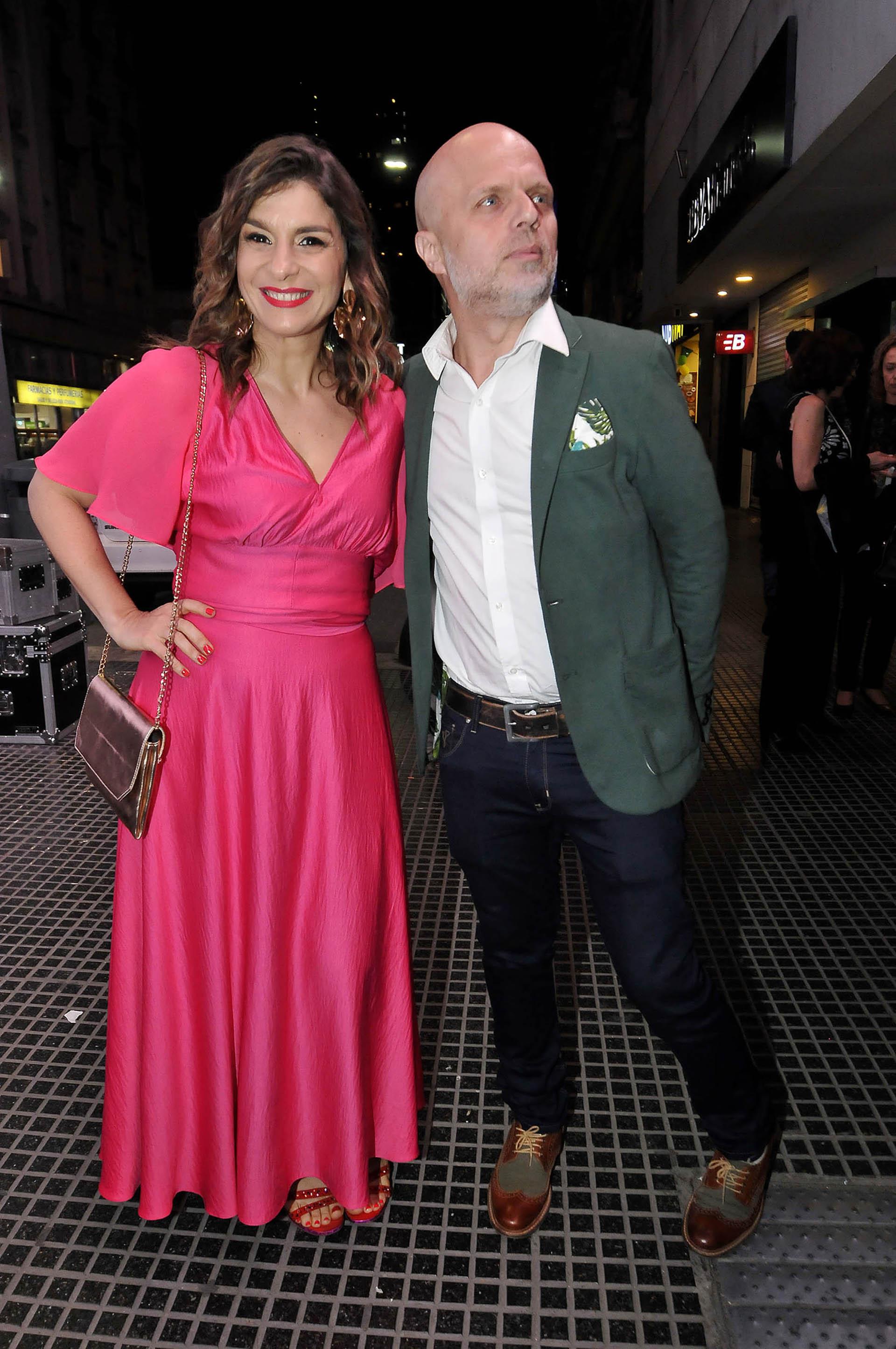 Dalia Gutman y Sebastián Wainraich