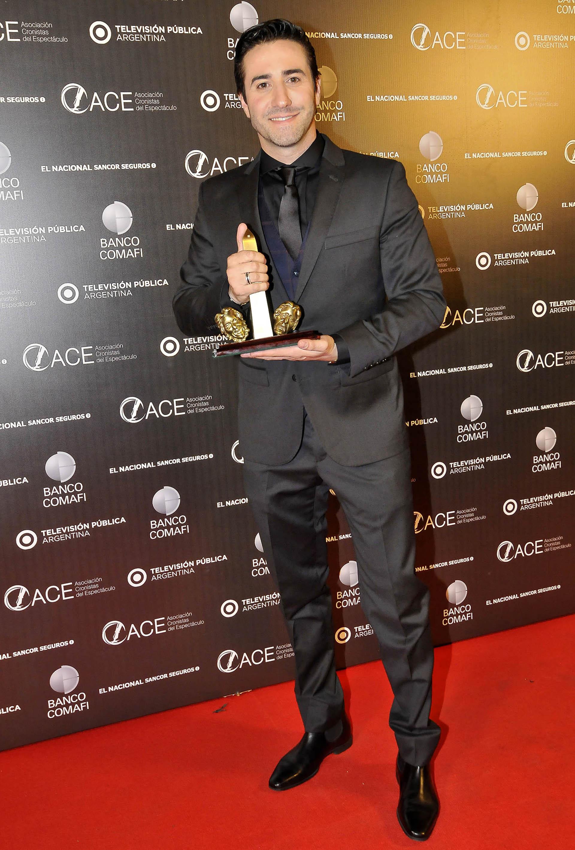 """Mariano Chiesa, ganador en actuación masculina en musical por su trabajo en """"Sunset Boulevard"""""""