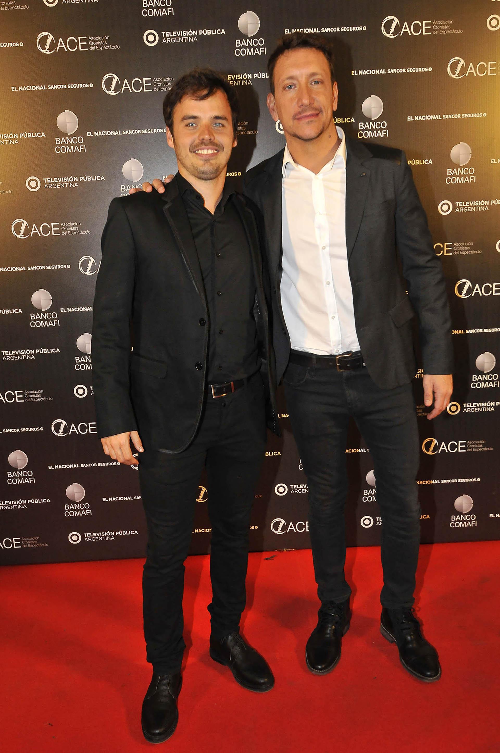 Benjamín Rojas y Nico Vázquez