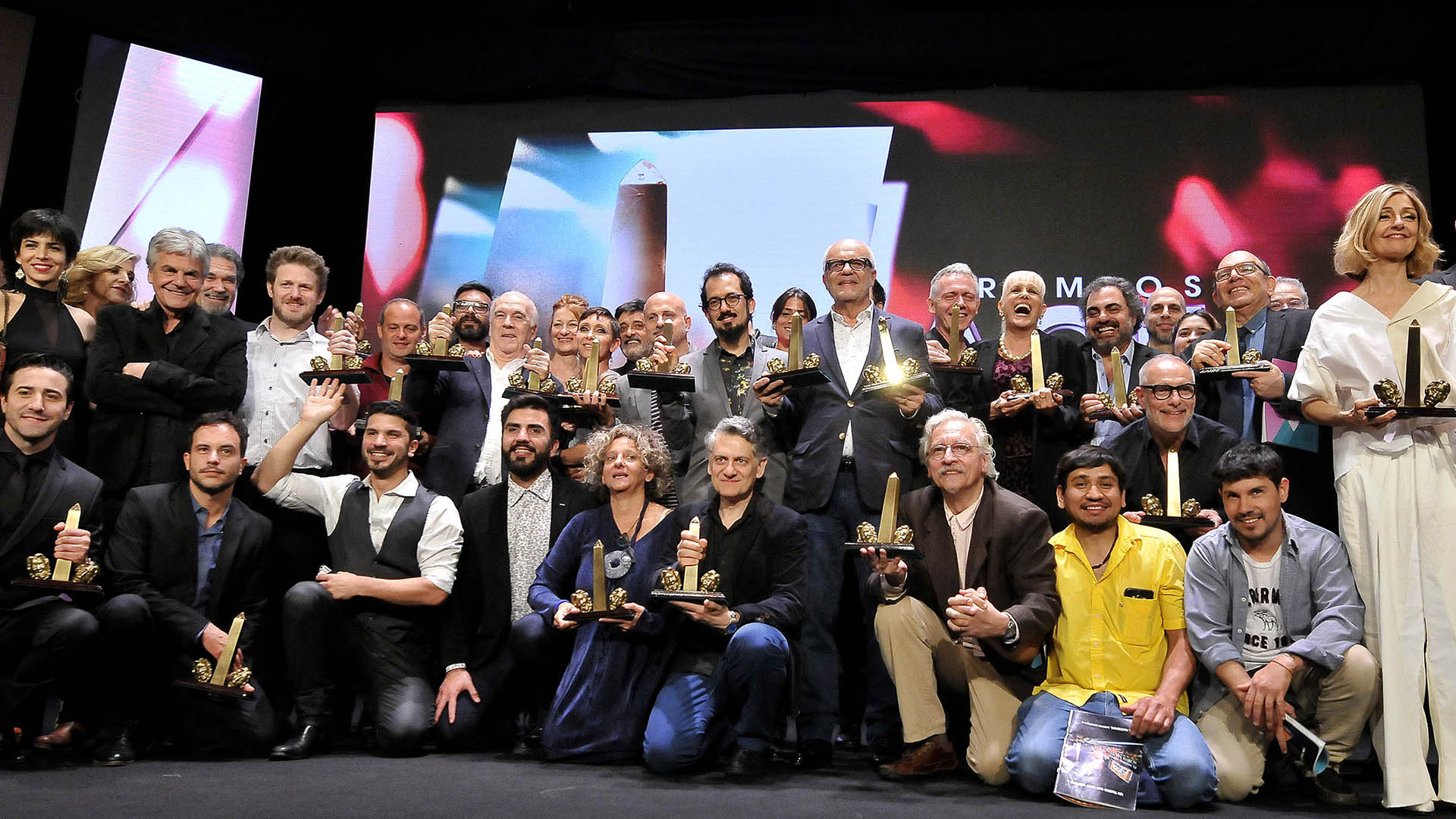 Todos los ganadores dela Asociación de Cronistas del Espectáculo de la Argentina