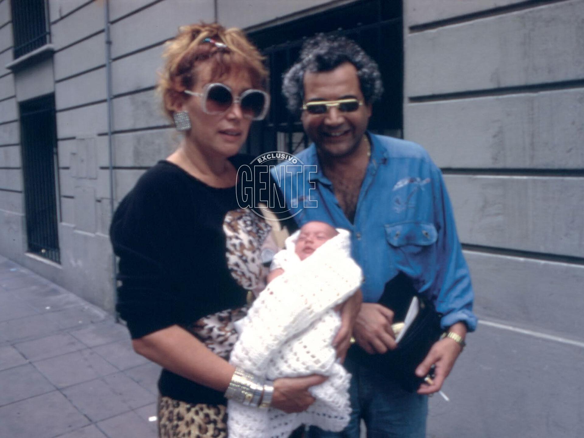 """""""Mario Castiglione fue el hombre que más me dejó, sin dudas; con él tuve a Sofía, mi amada hija. Me fascinaba, pero era muy celoso, la buscamos y vino enseguida""""."""