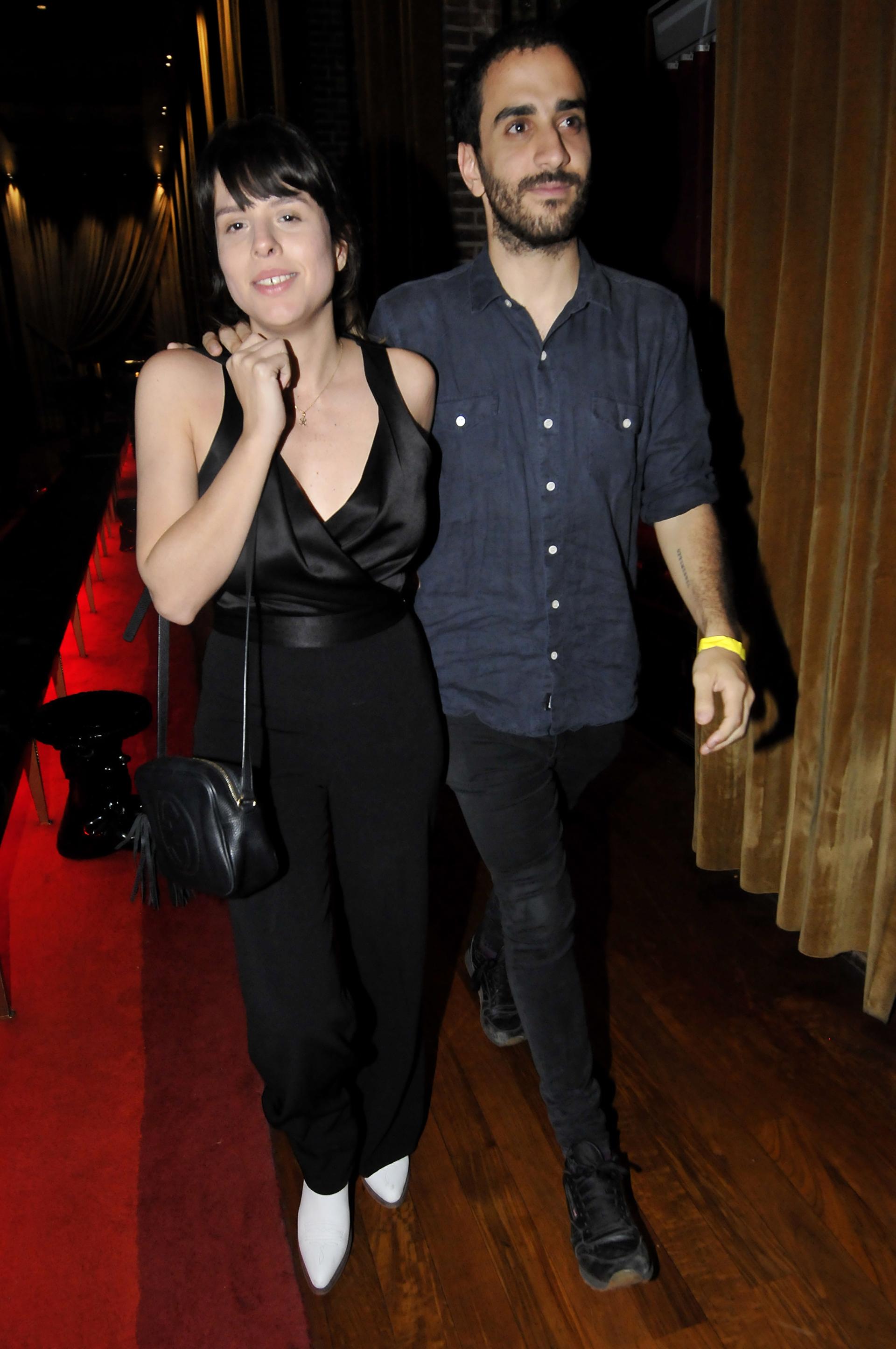 Rosario Ortega y su novio
