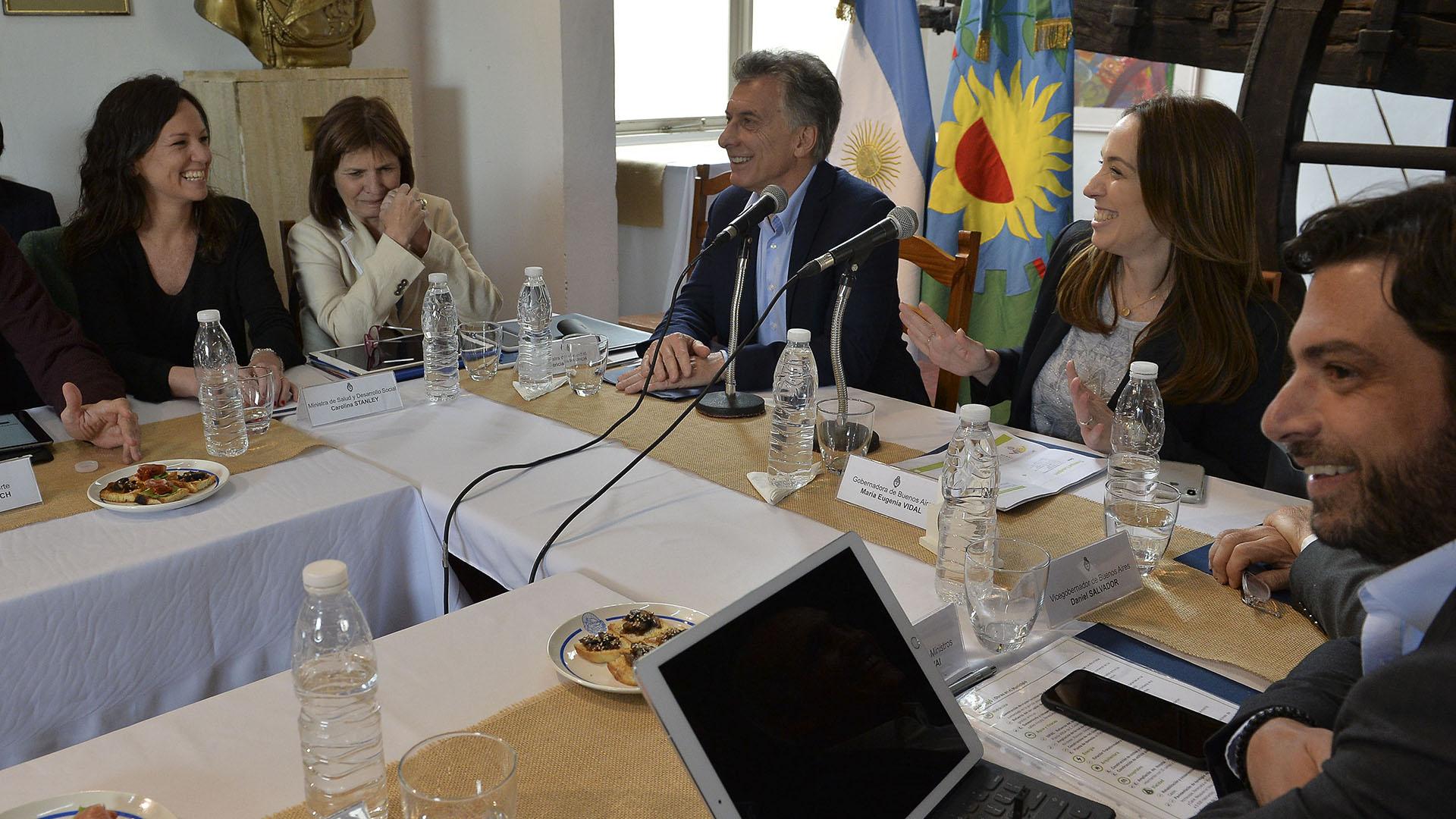 Macri Vidal en Trenque Launquen (2)