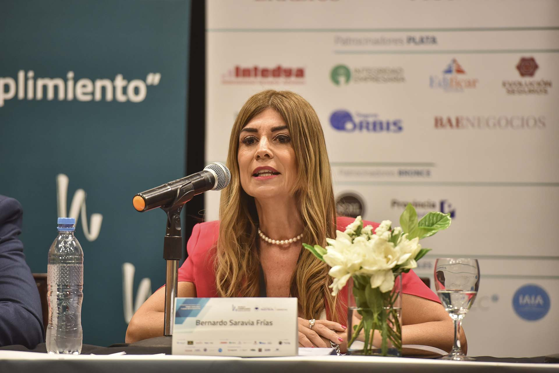 Lina Anllo, presidenta del capítulo argentino de la World Compliance Association (Fotos Guille Llamos)