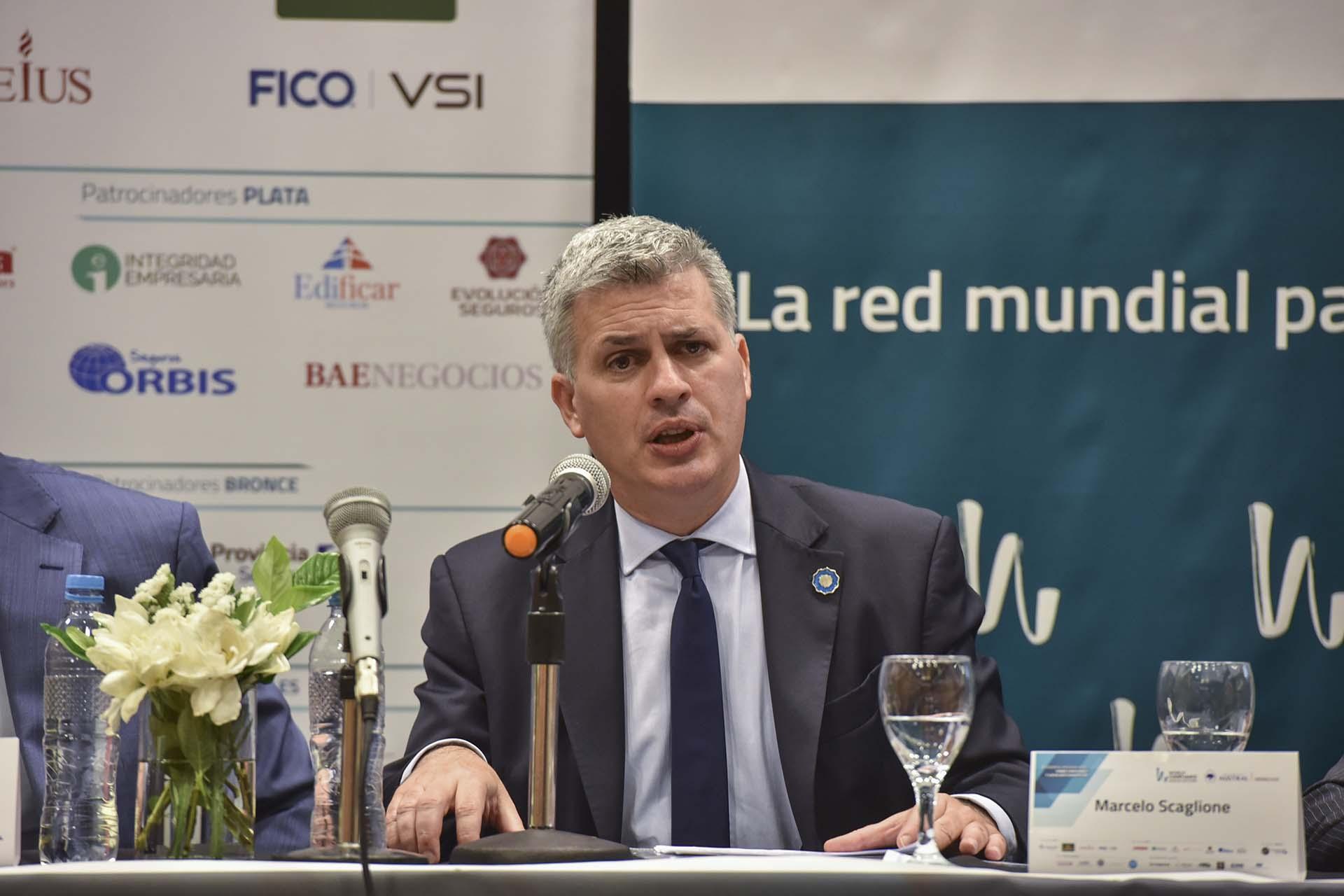 Marcelo Scaglione, subsecretario del Ministerio de Hacienda y representante argentino ante la OCDE