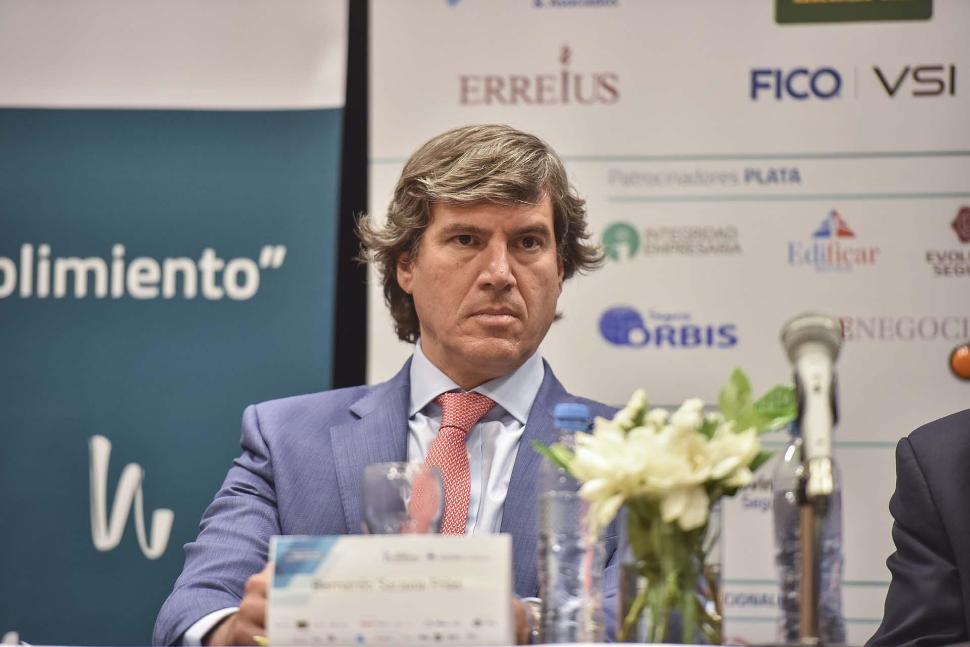 El procurador del Tesoro, Bernardo Saravia Frías