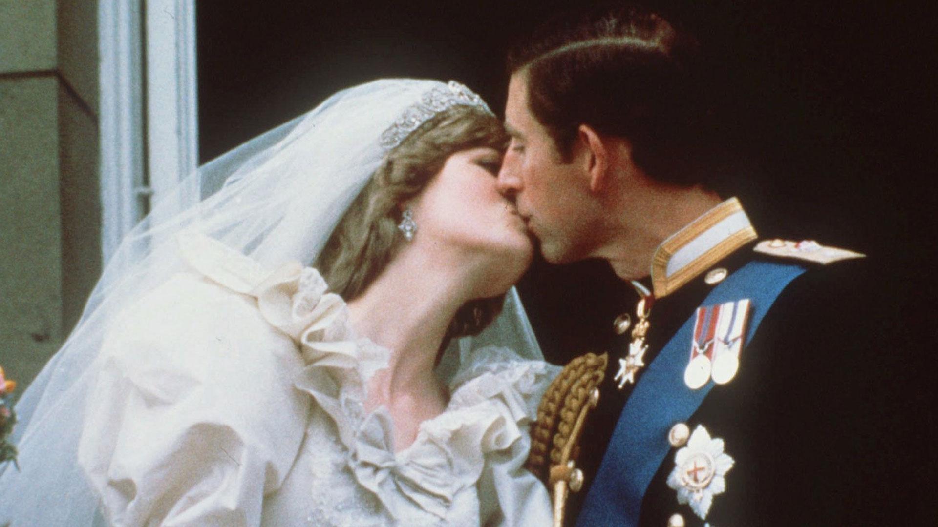 El casamiento de Carlos y Diana, el 29 de julio de 1981