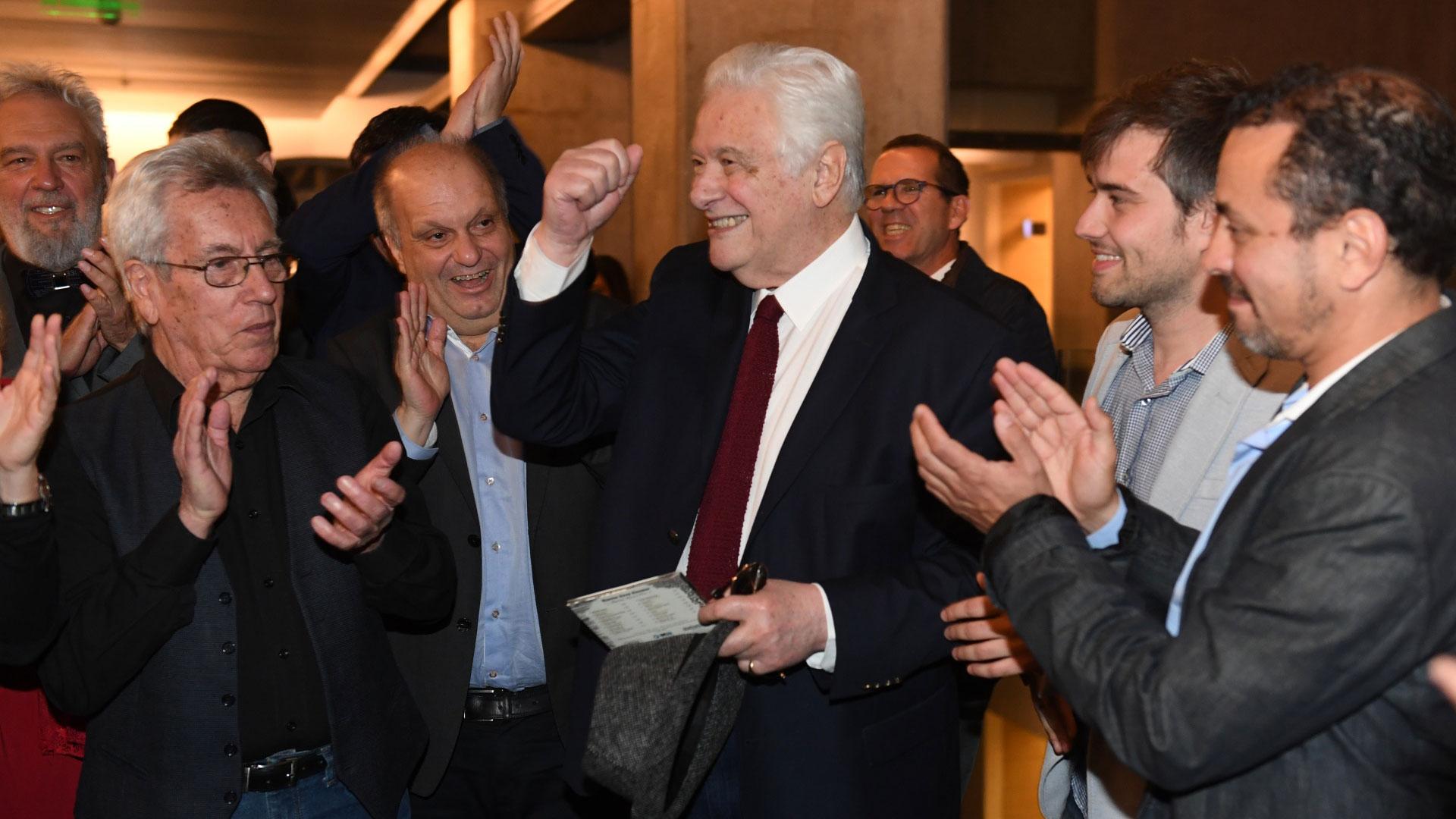 Héctor Lombardi también participó de la celebración