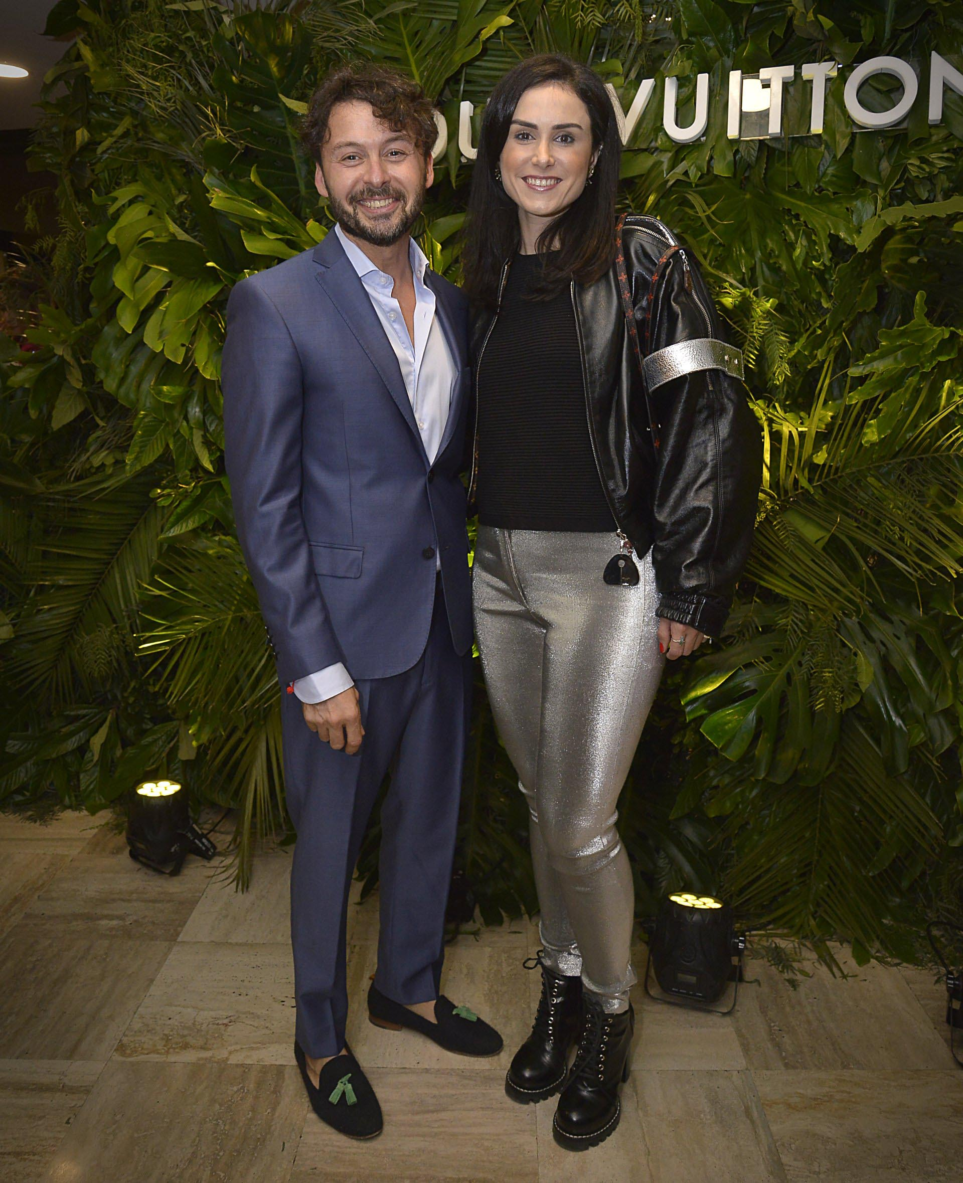 Wally Diamante y Andrezza Mastiguim, PR director de Louis Vuitton Latinoamérica