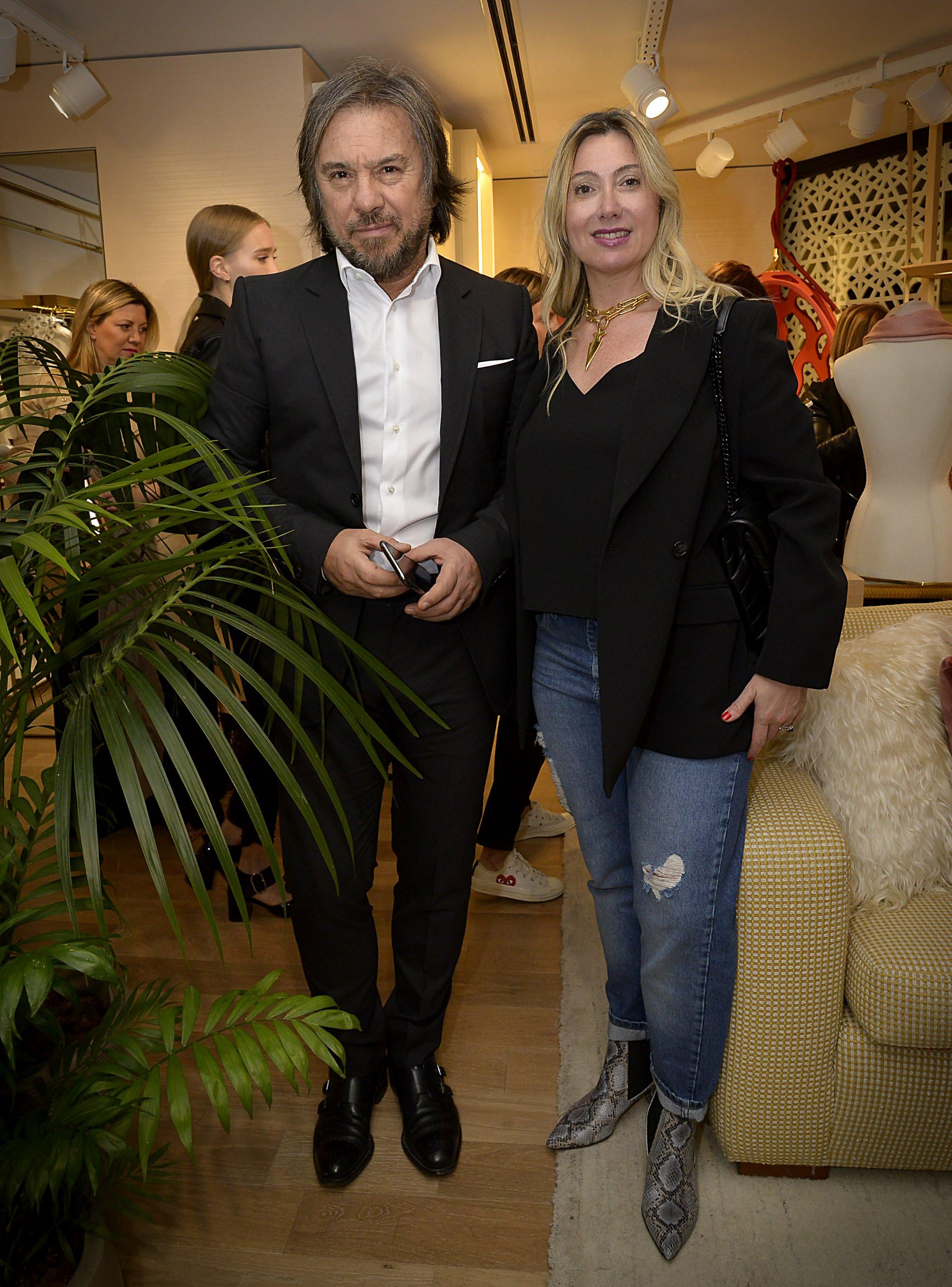 Claudio Cerini y Karina Davicco