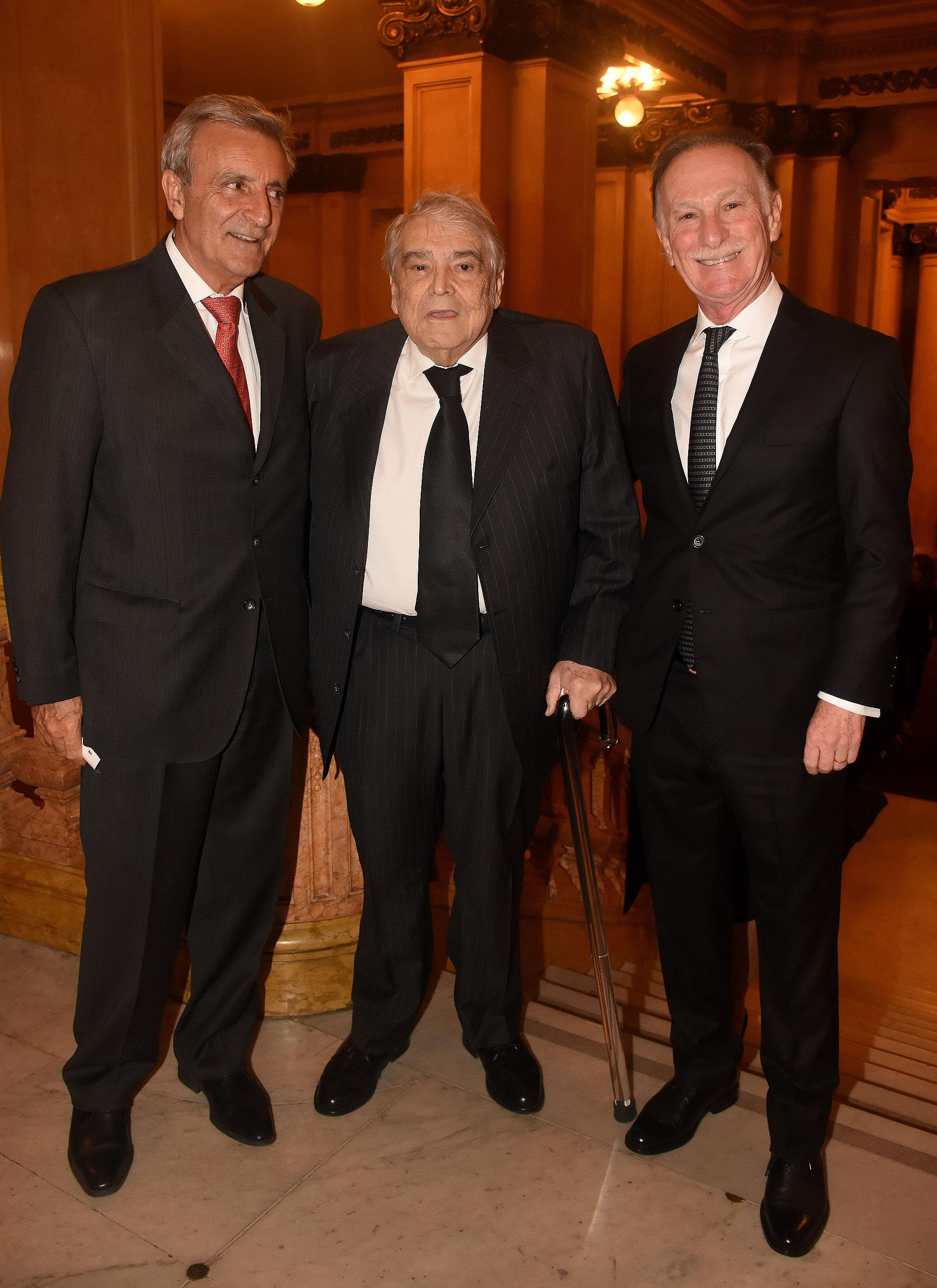Héctor Méndez, ex titular de la Unión Industrial Argentina, y Gustavo Weiss