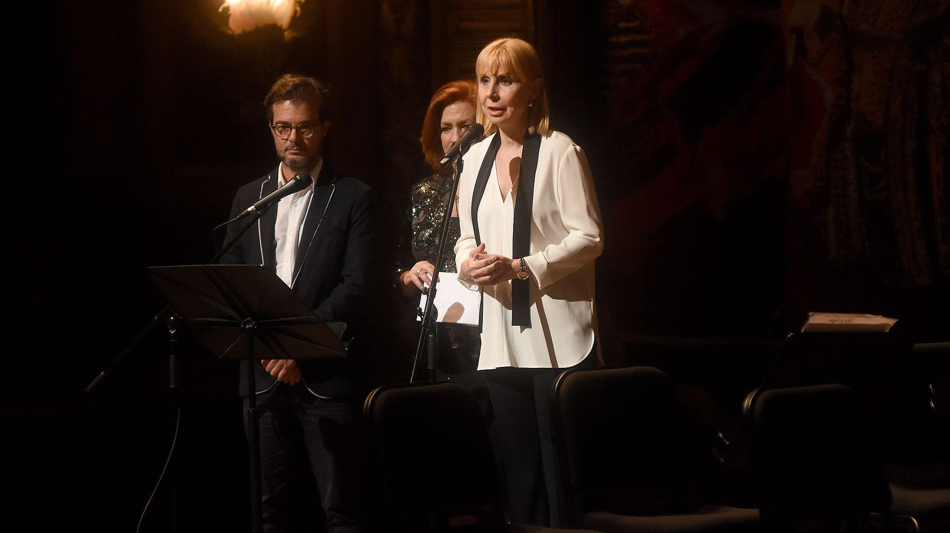 El discurso de la directora del Teatro Colón, María Victoria Alcaraz