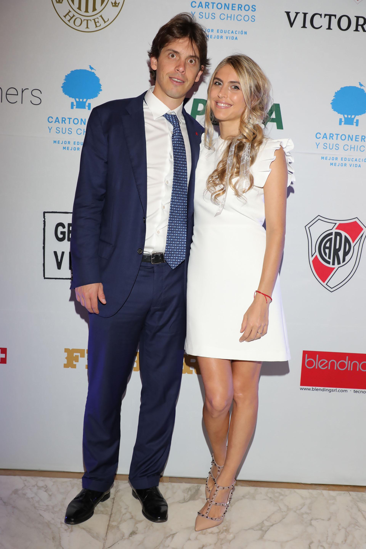 Gregorio Whertein y Geraldine Krongold