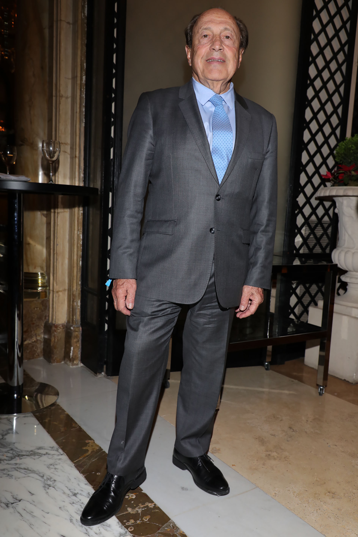 El empresario Carlos Spadone. Todos los invitados brindaron su apoyo y se interesaron por aportar a las becas de estudio