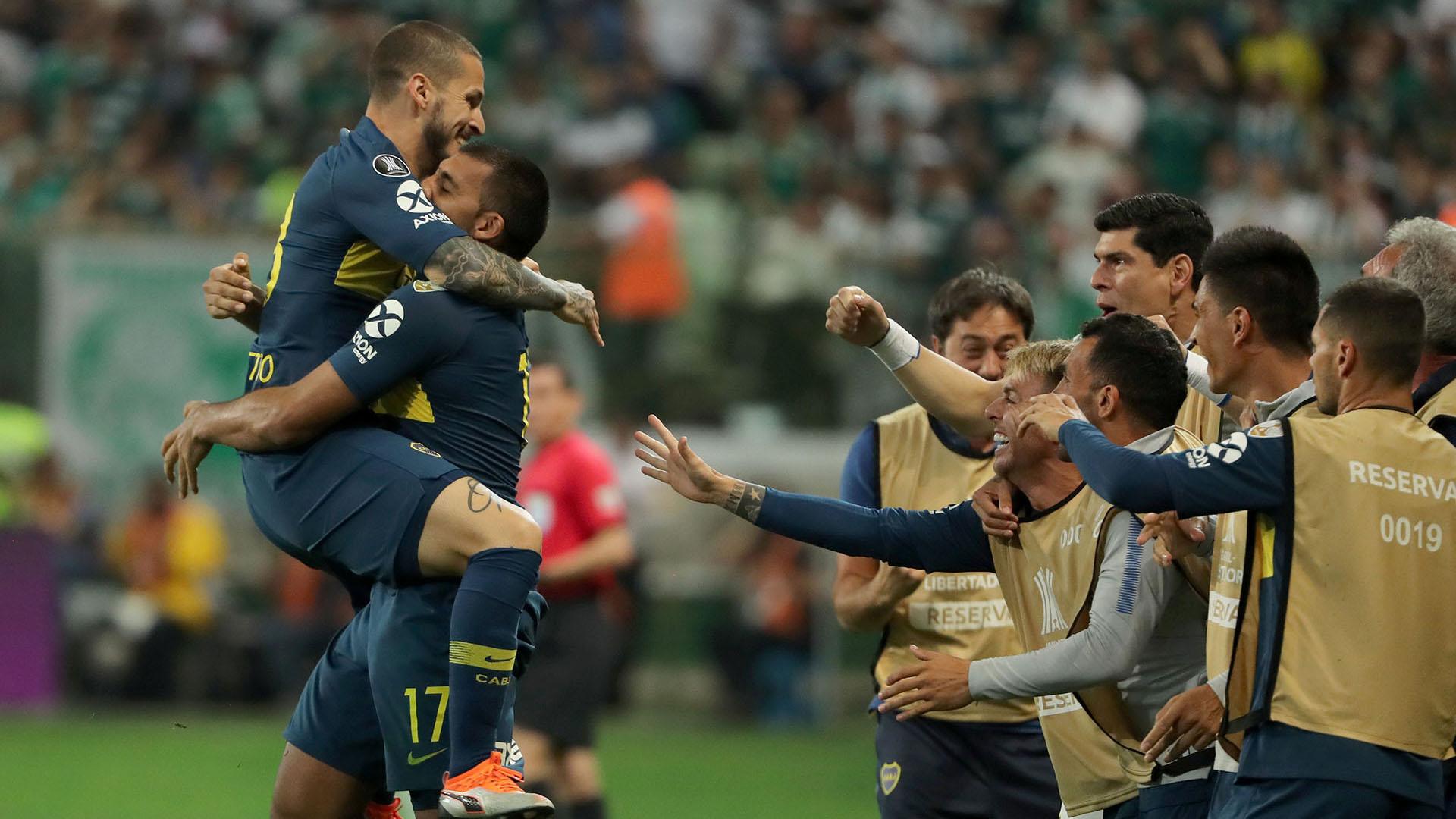 Boca igualó 2 a 2 con San Pablo y accedió a la final de la Copa Libertadores