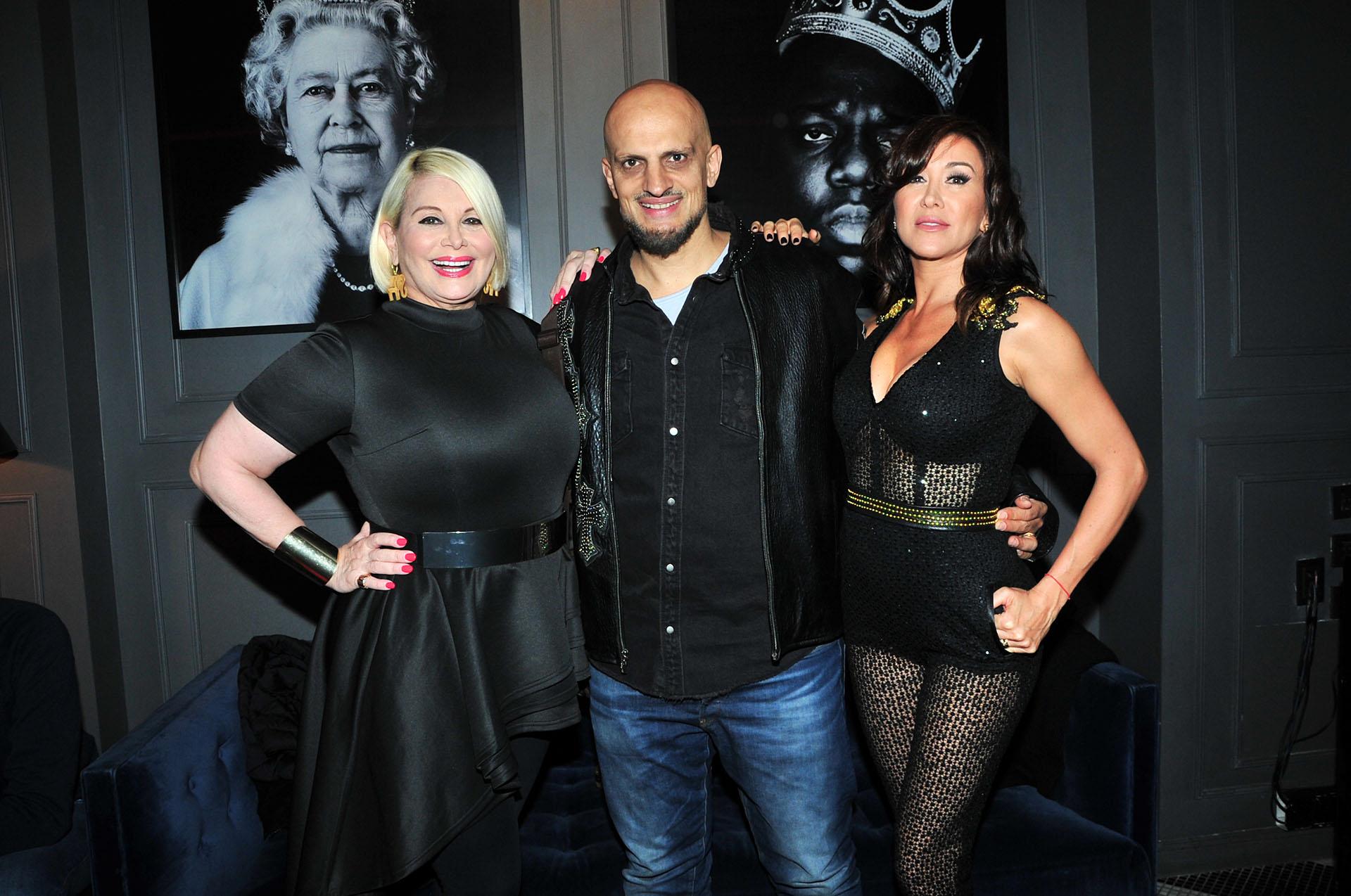 Carmen Barbieri, Guillermo Marín y Valeria Archimó (Verónica Guerman/Teleshow)