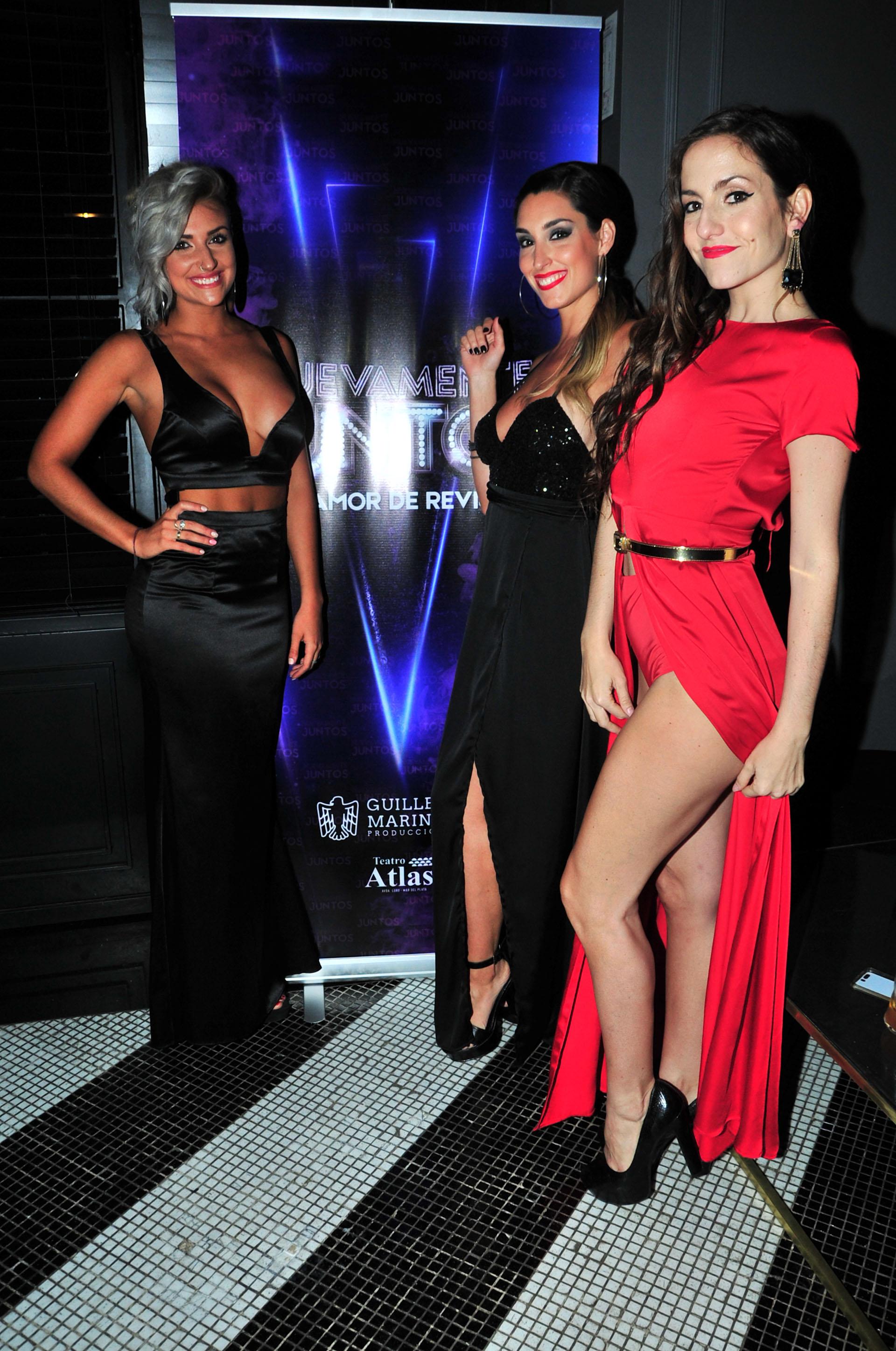 Las bailarinas de la nueva revista de Guillermo Marín Producciones