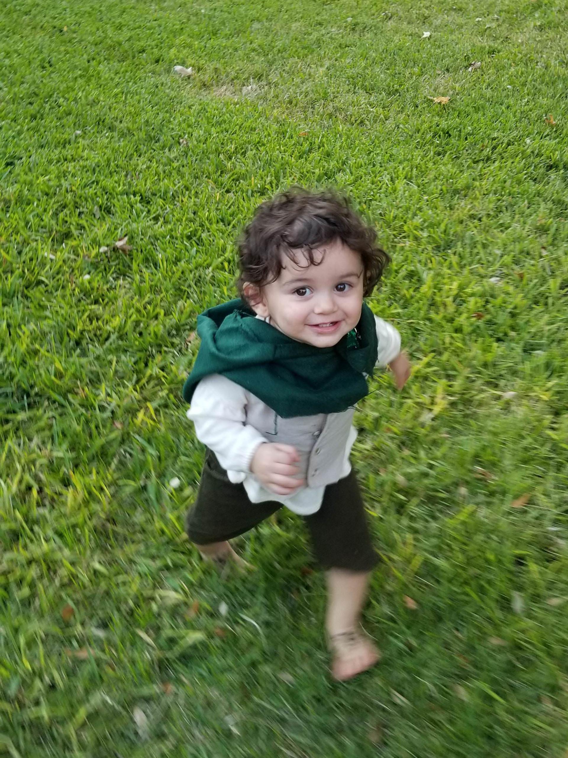 Una alegre versión de Frodo compartida por pabs21