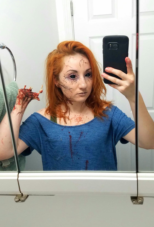 """""""Halloween es como navidad para nosotros los amputados"""", escribió Reacion_on_my_nub"""