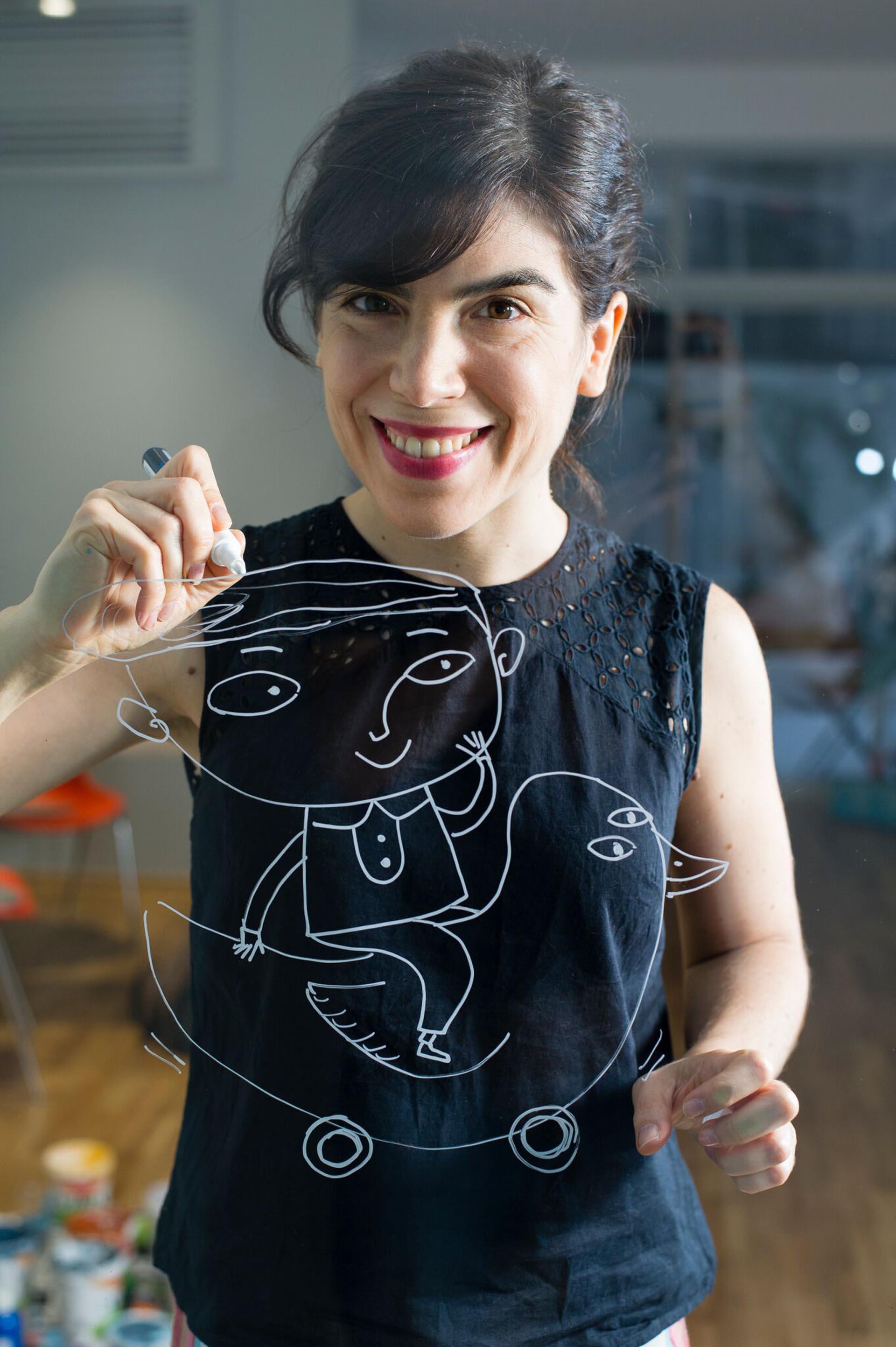 Isol, la gran ilustradora argentina, reveló detalles de sus nuevos proyectos