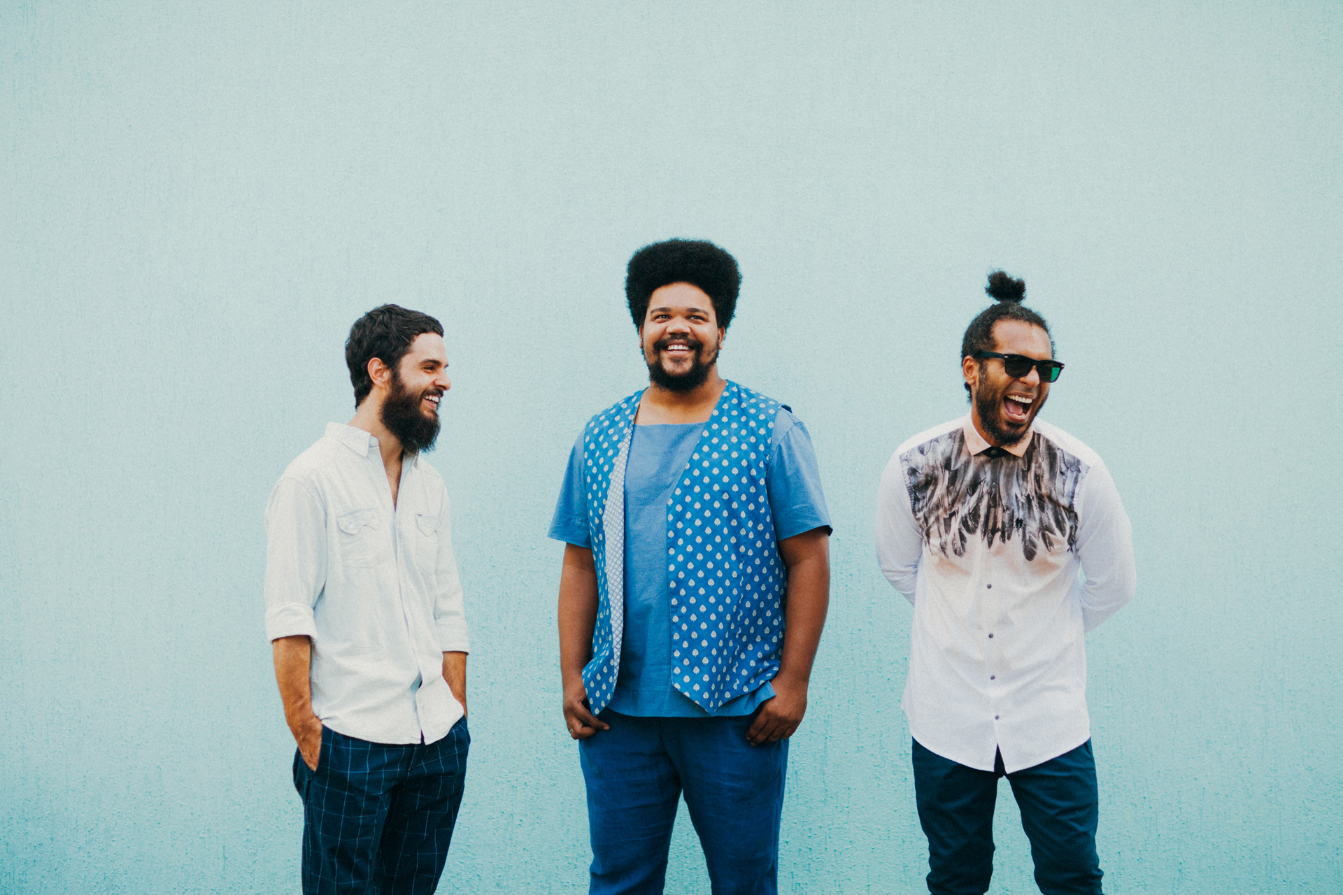 Amaro Freitas Trio (Foto: Helder Tavares/Divulgação)
