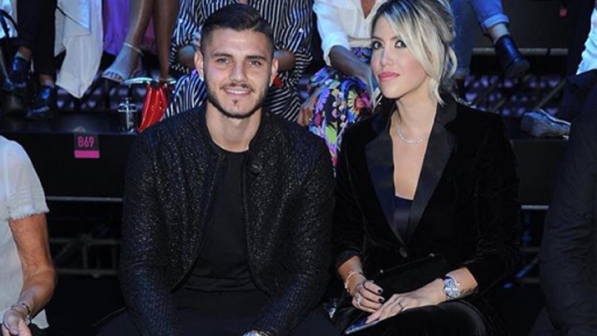 La ex modelo negó los informes de la prensa que afirmaron que el jugador habría alcanzado un acuerdo con el Inter para renovar su contrato (Foto: Especial)