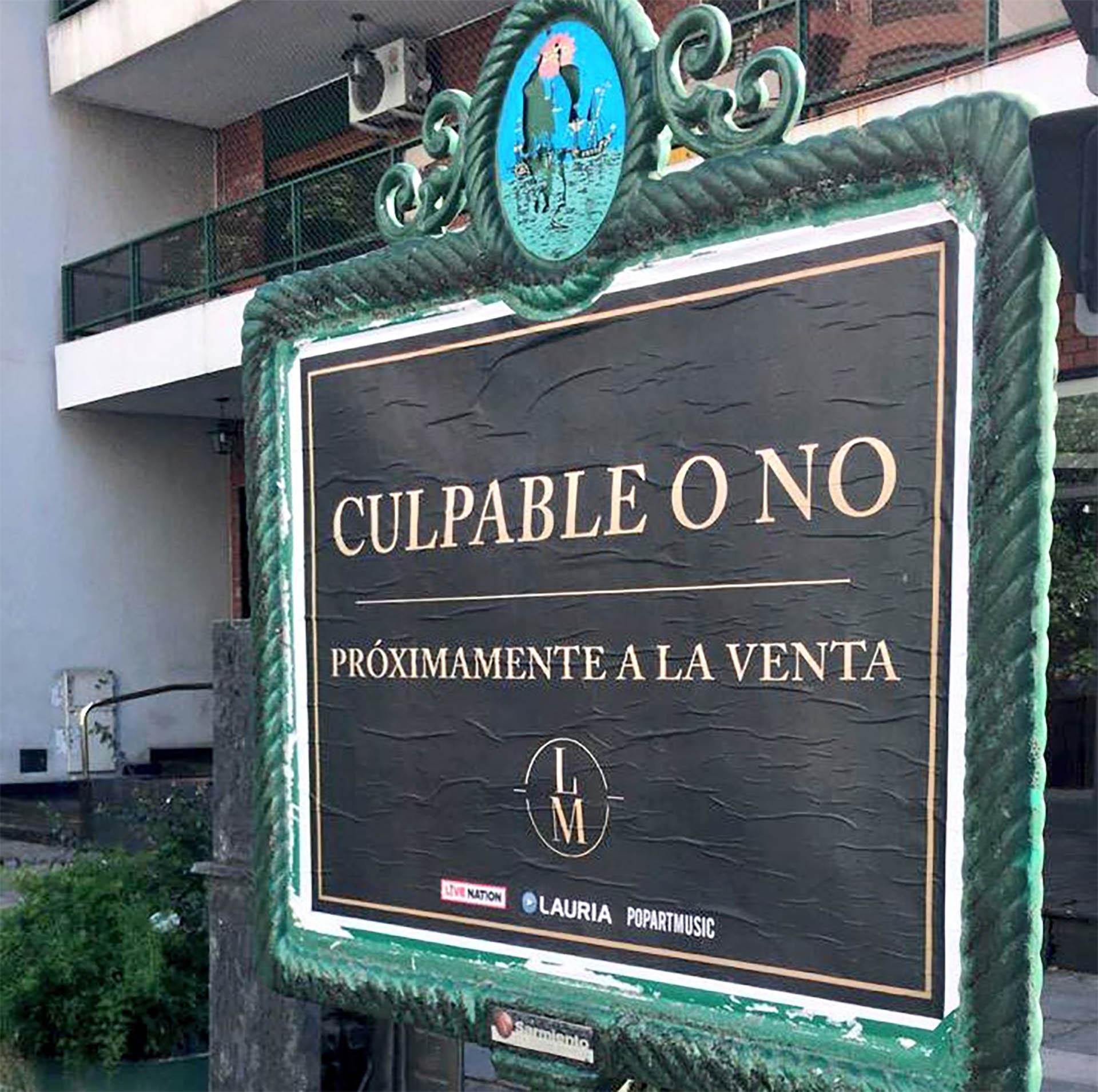 Luis Miguel anunció su regreso a la Argentina de una manera original: pusieron carteles con los títulos de los temas del cantante. Tocará el 26 de febrero en Córdoba y el 1 de marzo en Buenos Aires