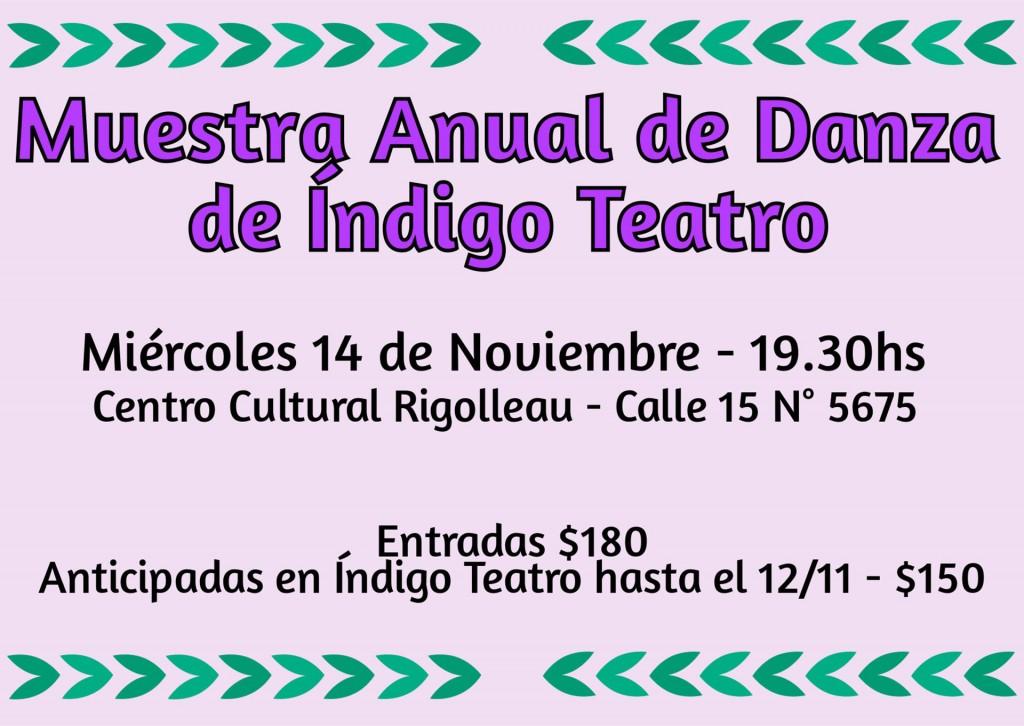 Muestra Anual Danza 2018