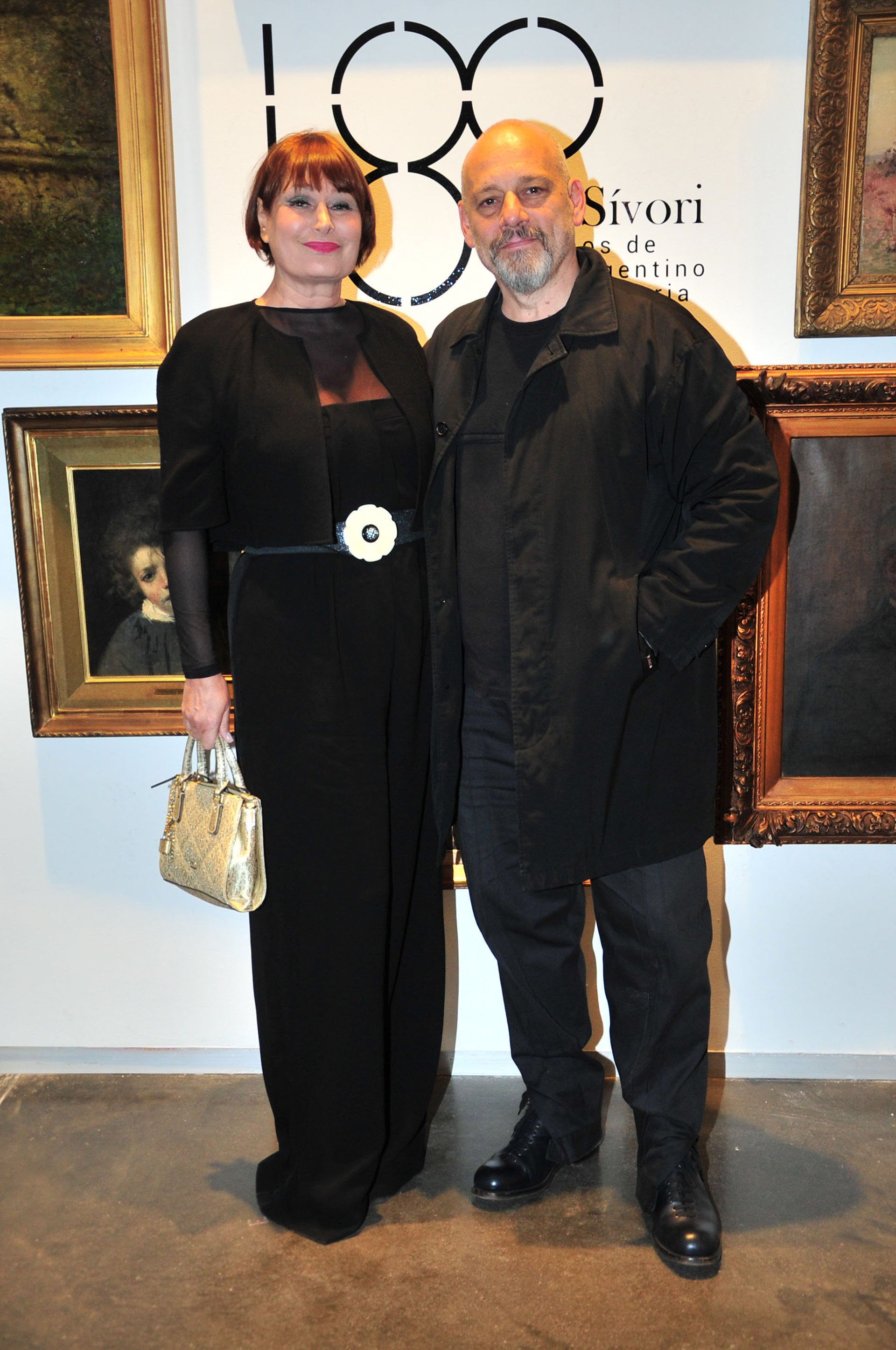 El tenor Darío Volonté y su mujer Vera Cirkovic