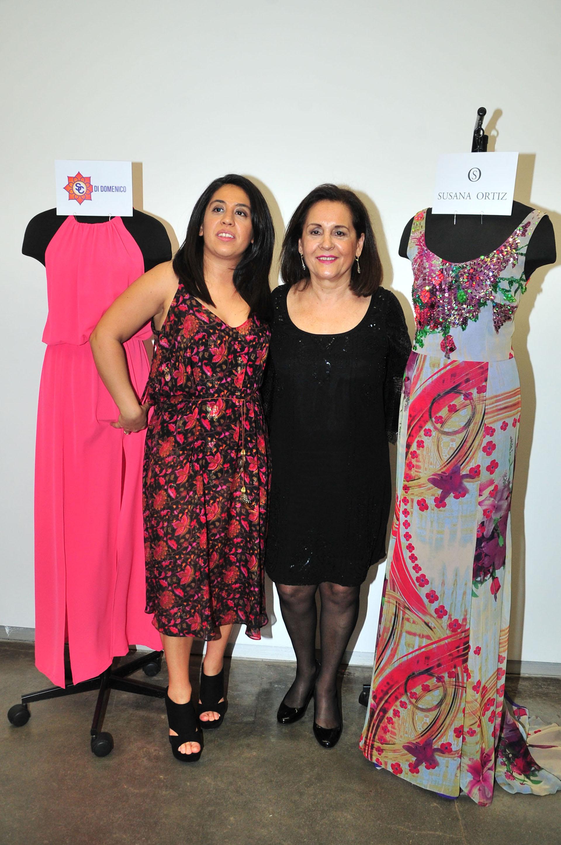 Carla Di Domenico y Susana Ortiz