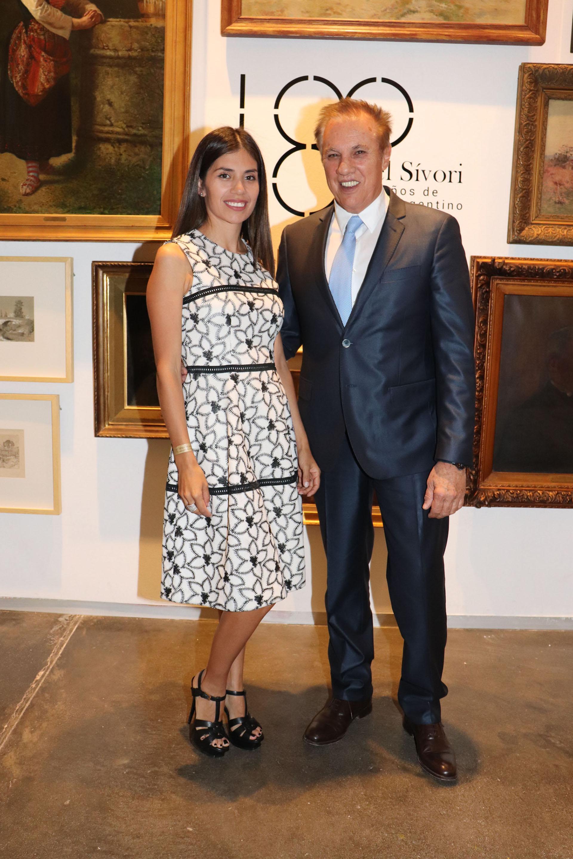 Gina Vargas de Roemmers y Alberto Roemmers