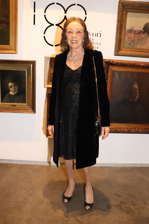 Hebe Colman de Roemmers, madrina de la Asociación de Amigos del Museo Sívori