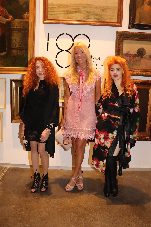 Maureene Dinar, Susana Clur, y Verónica De la Canal