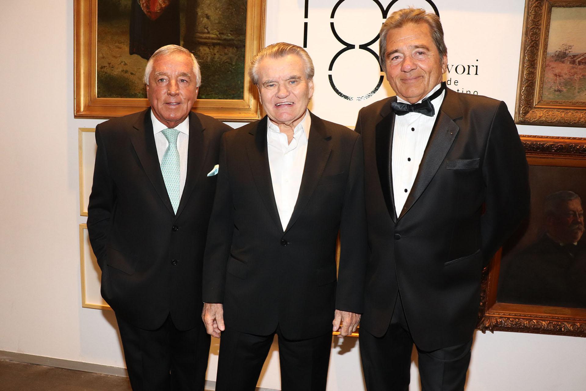 Julio de Marco, Gregorio Zidar y Lido González Noguera