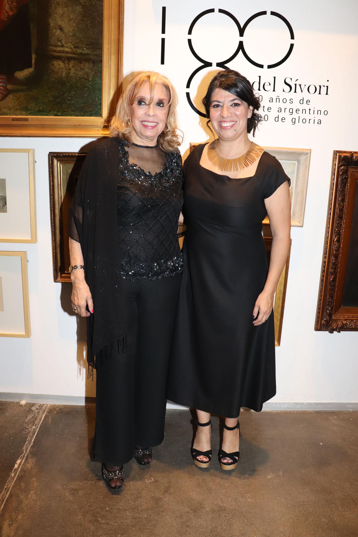 Los anfitriones del evento fueron la Asociación Amigos del Museo Sívori, encabezada por la actual presidente Irma Muslera, y la directora del Museo Sívori, Teresa Riccardi