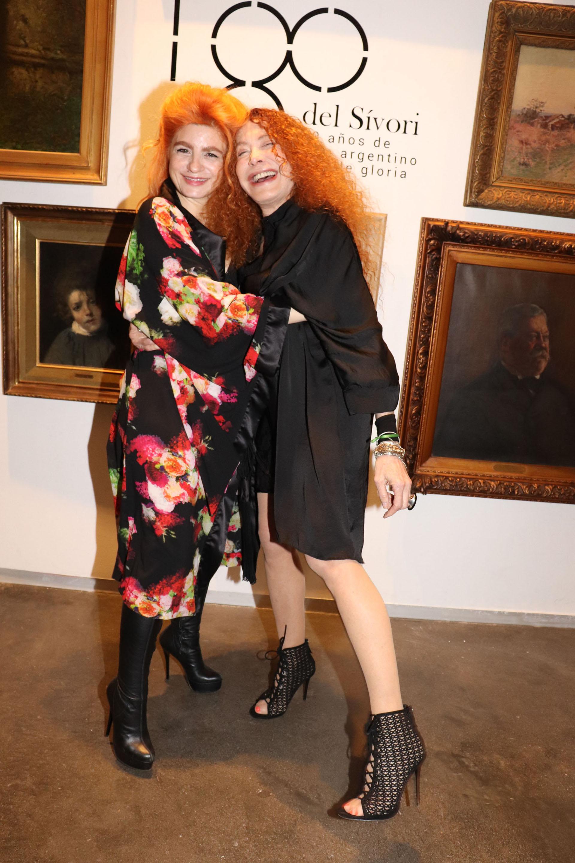 Verónica De la Canal y Maureene Dinar