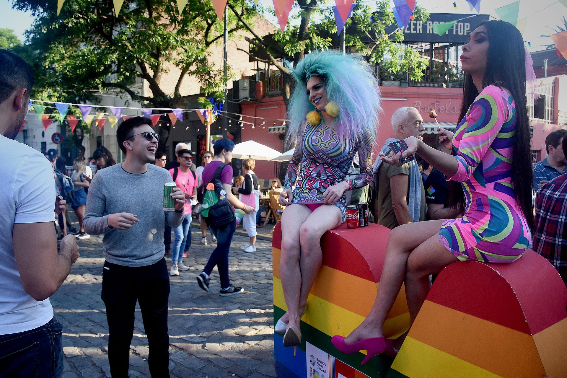 Del evento participaron también unas 20 organizaciones que promueven y difunden los de derechos del colectivo LGBTIQ