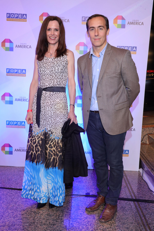 Mariel Fitz Patrick y Hugo Alconada Mon