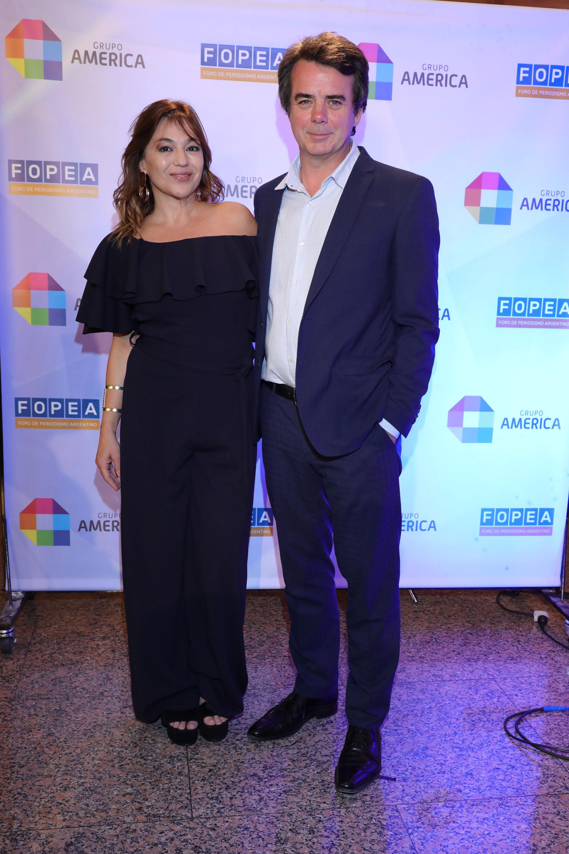"""Lorena Maciel y Gerardo """"Tato"""" Young"""