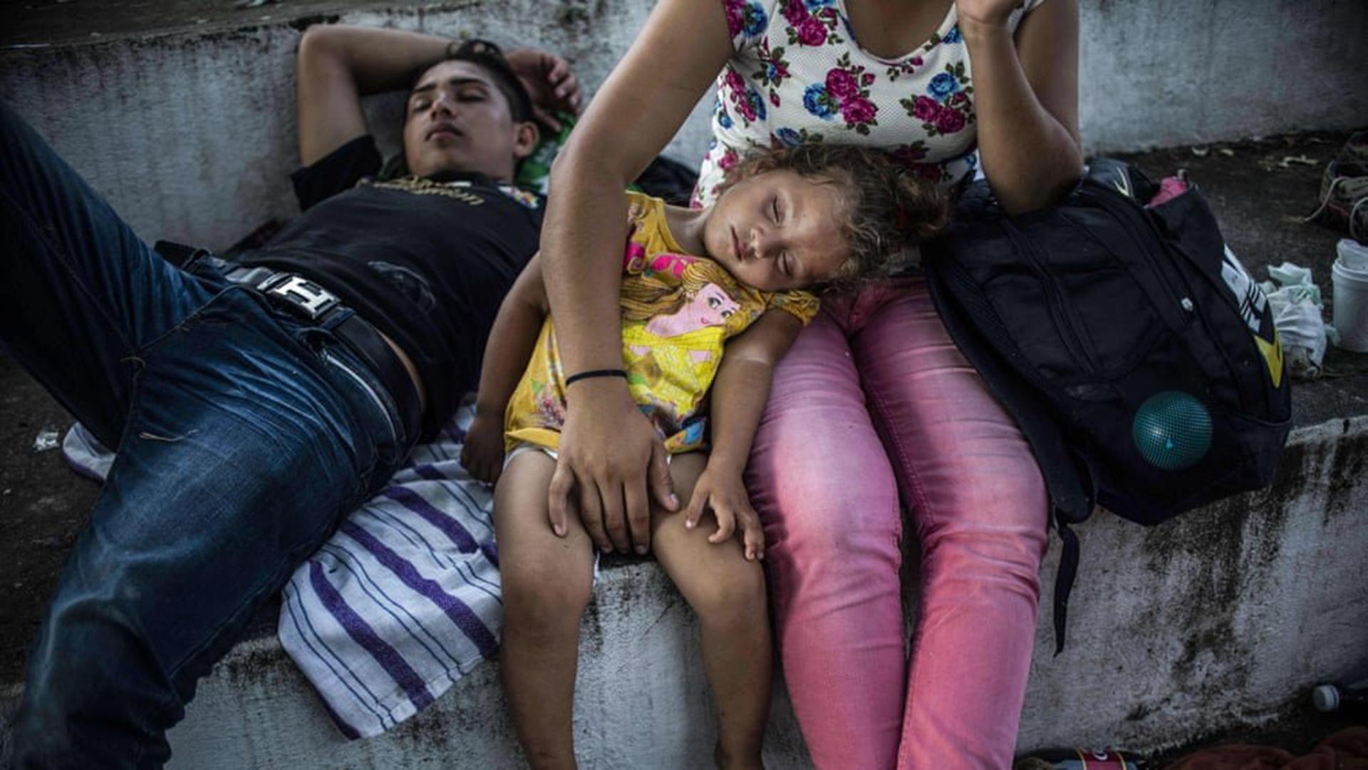 Progresivamente comienzan a arribar los migrantes de la caravana a la capital mexicana. (Foto: @OaxacanewsENG)