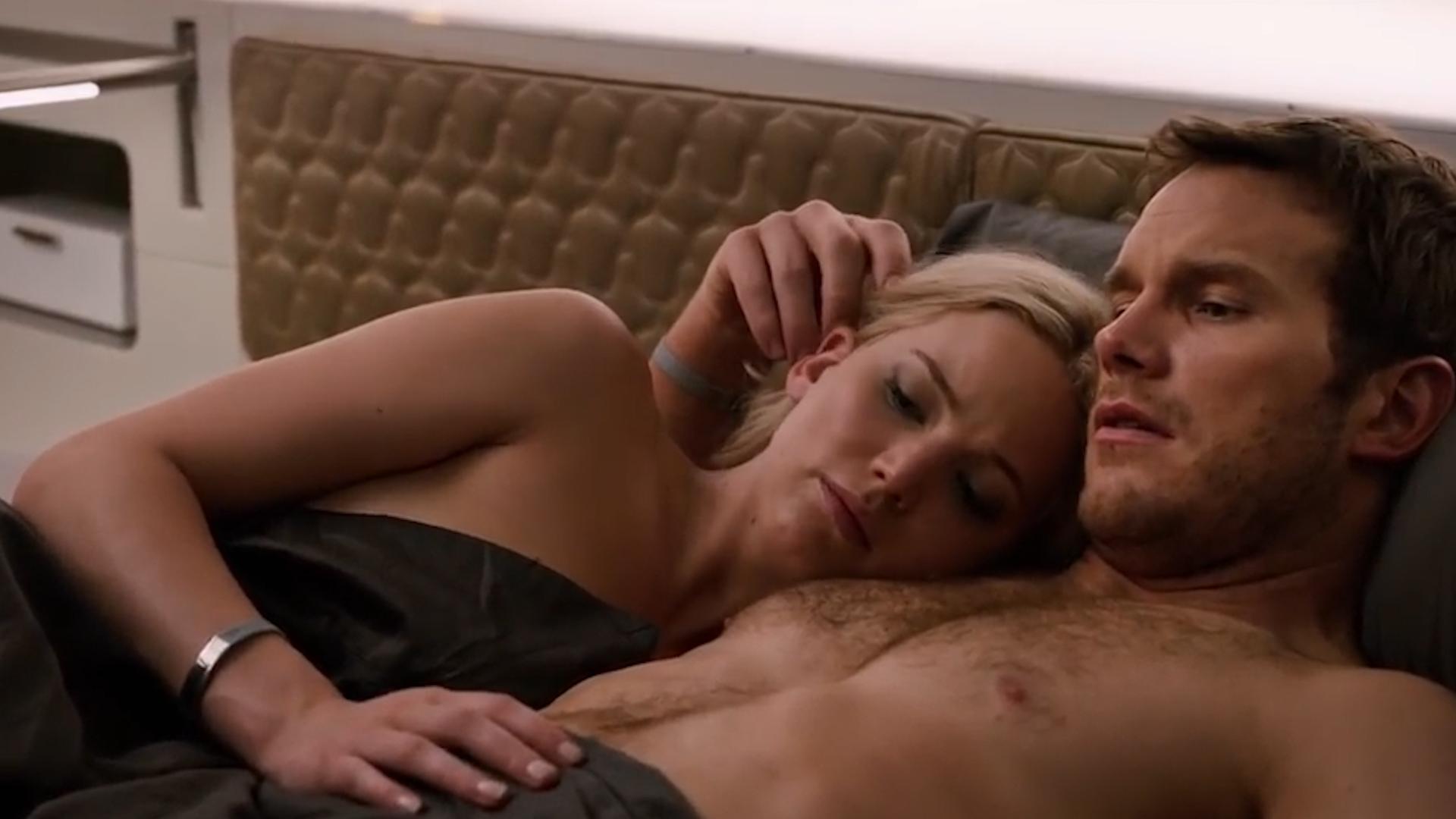 """Jennifer Lawrence confesó que fue muy incómodo para ella filmar escenas de sexo con Chris Pratt en """"Passengers"""""""