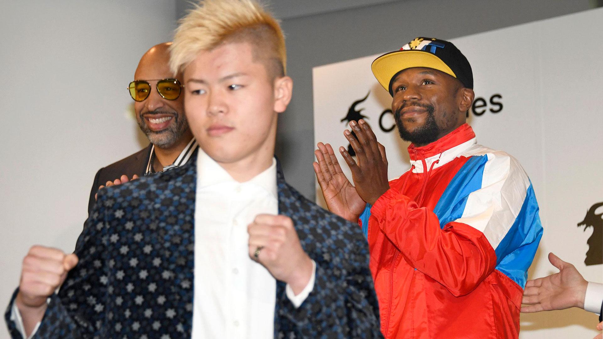 El japonés Tenshin Nasukawa prometió vengar la derrota de McGregor (AP)
