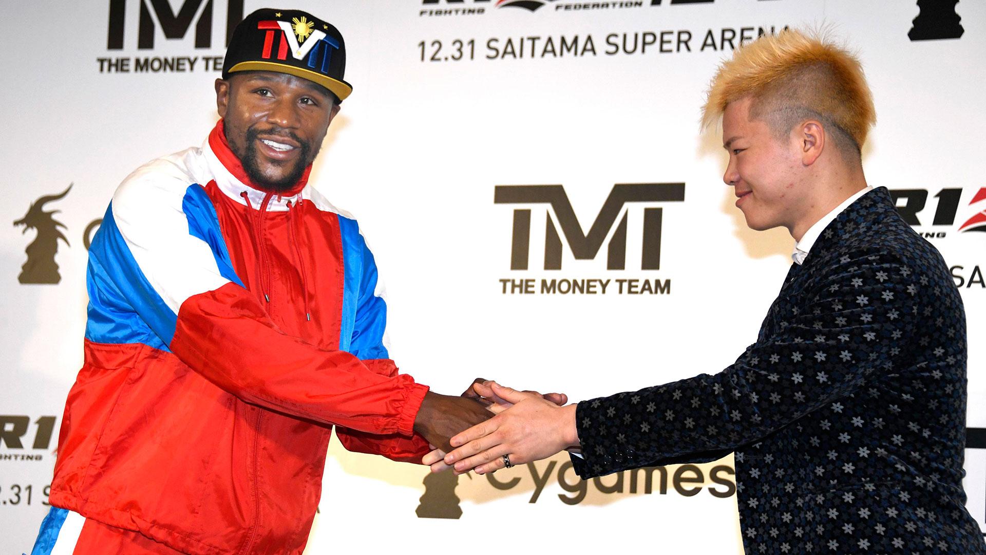 Mayweather saldrá del retiro para pelear en un evento de artes marciales mixtas en Japón (AP)