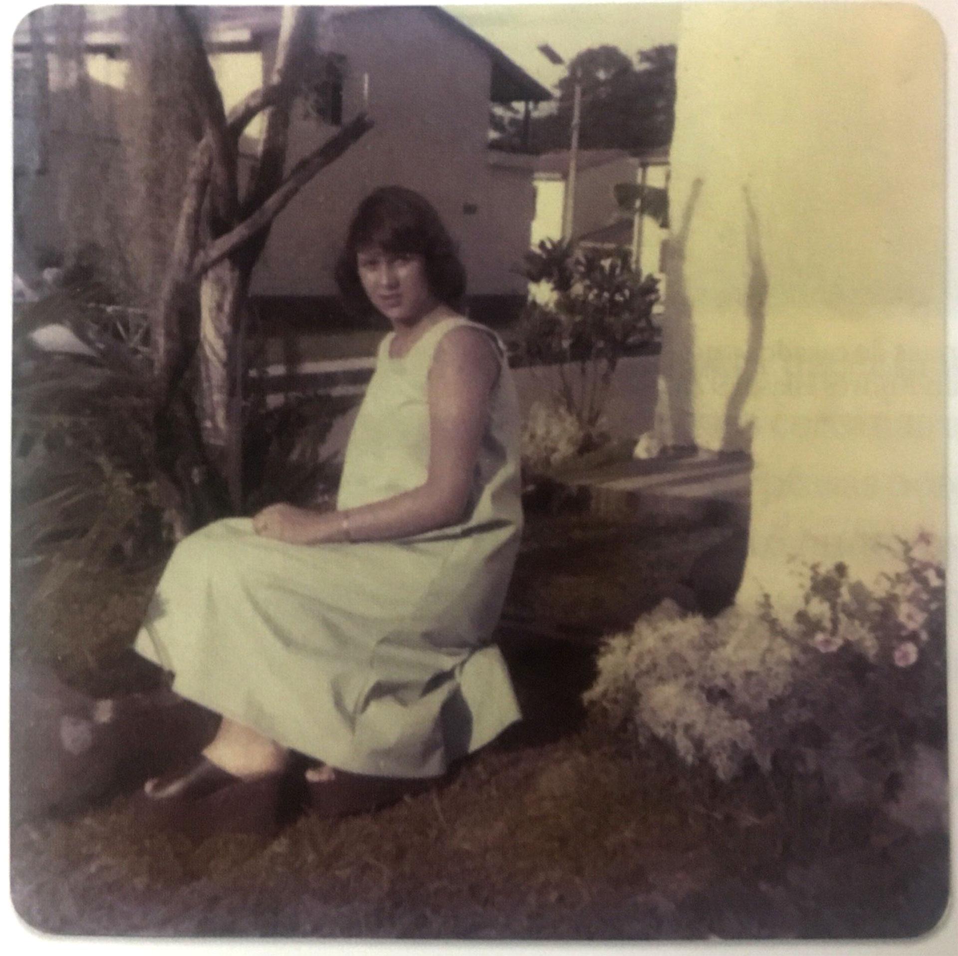 1976. Victoria Eugenia Henao está embarazada de Pablo Emilio Escobar Gaviria (Victoria Eugenia Henao /Editorial Planeta)